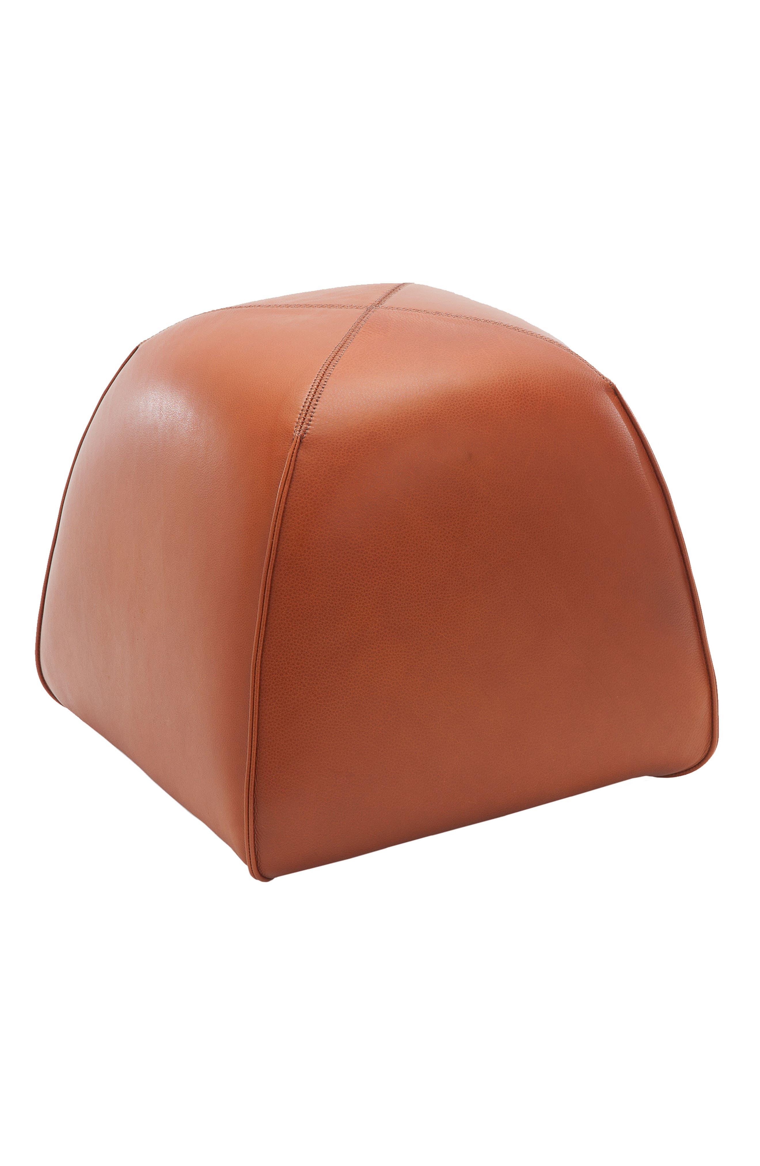 Kaas Tailored BimBom Leather Stool