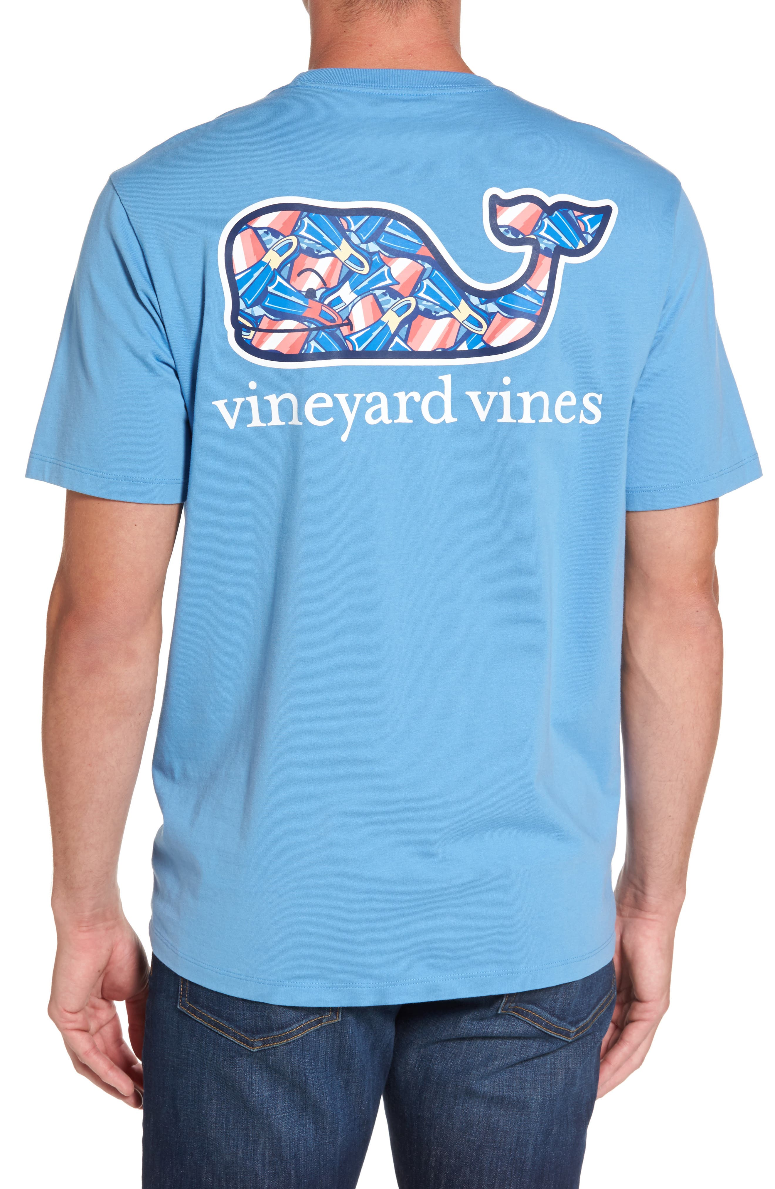 Vineyard Vines Flippers Whale Graphic T-Shirt