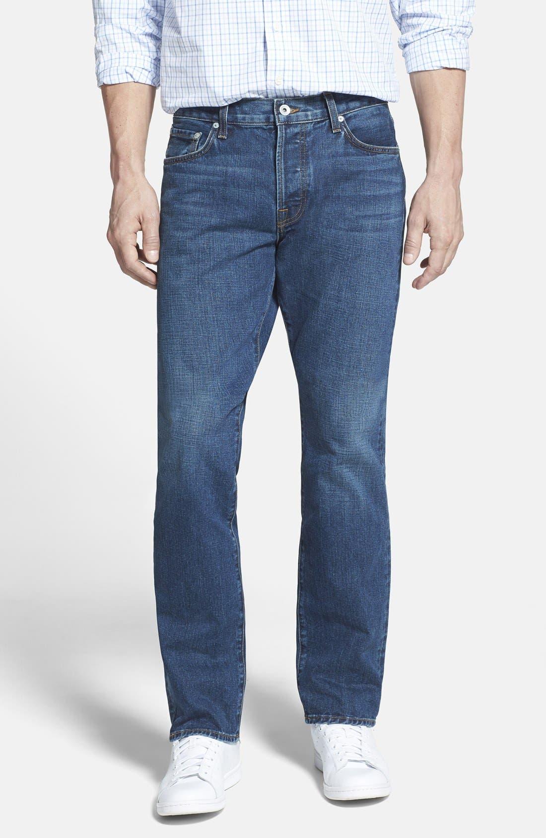 Baldwin Reed Straight Leg Jeans Denver Nordstrom