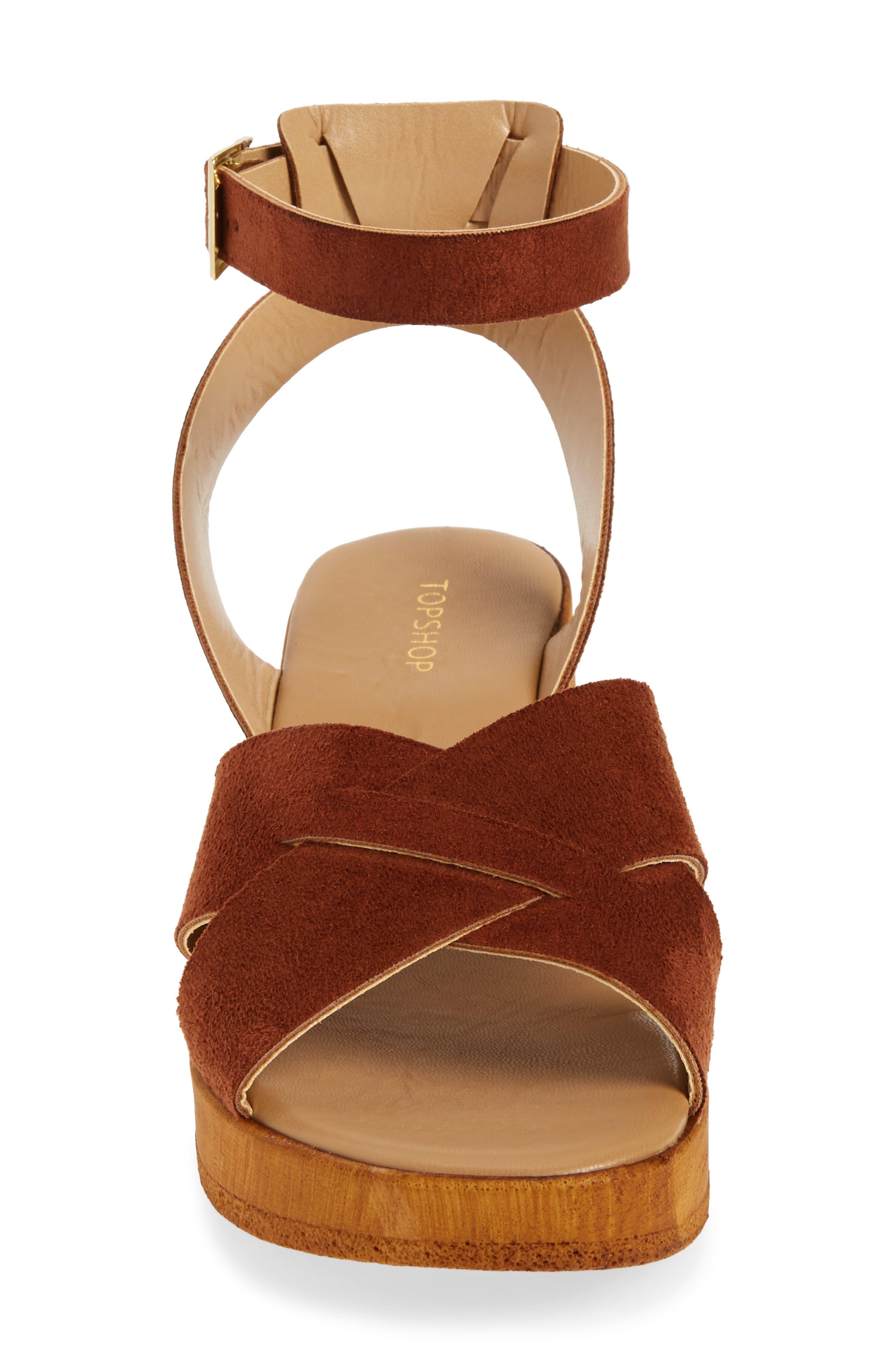 Alternate Image 4  - Topshop Dolly Block Heel Sandal (Women)