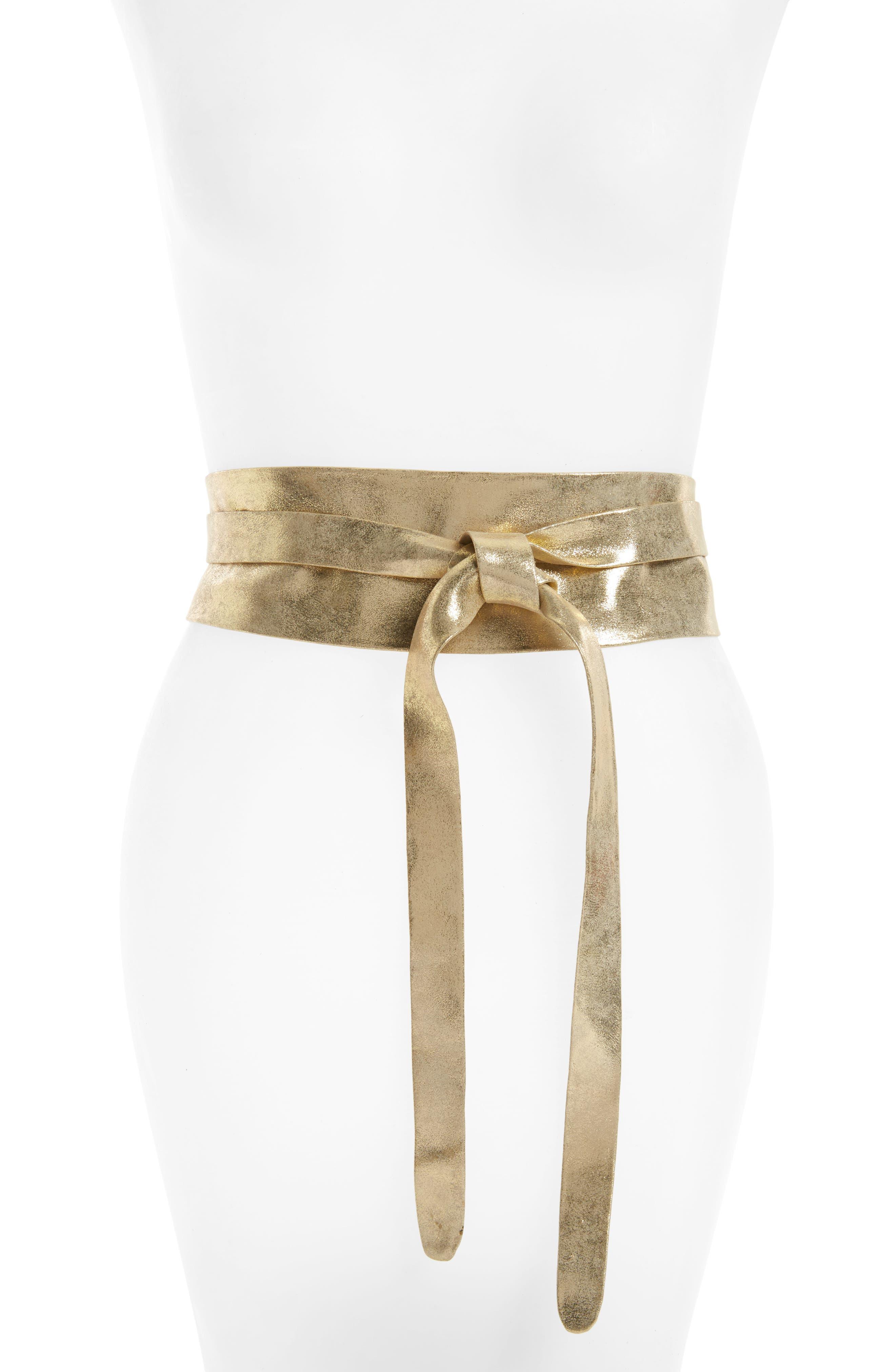 Ada Handmade Leather Wrap Belt