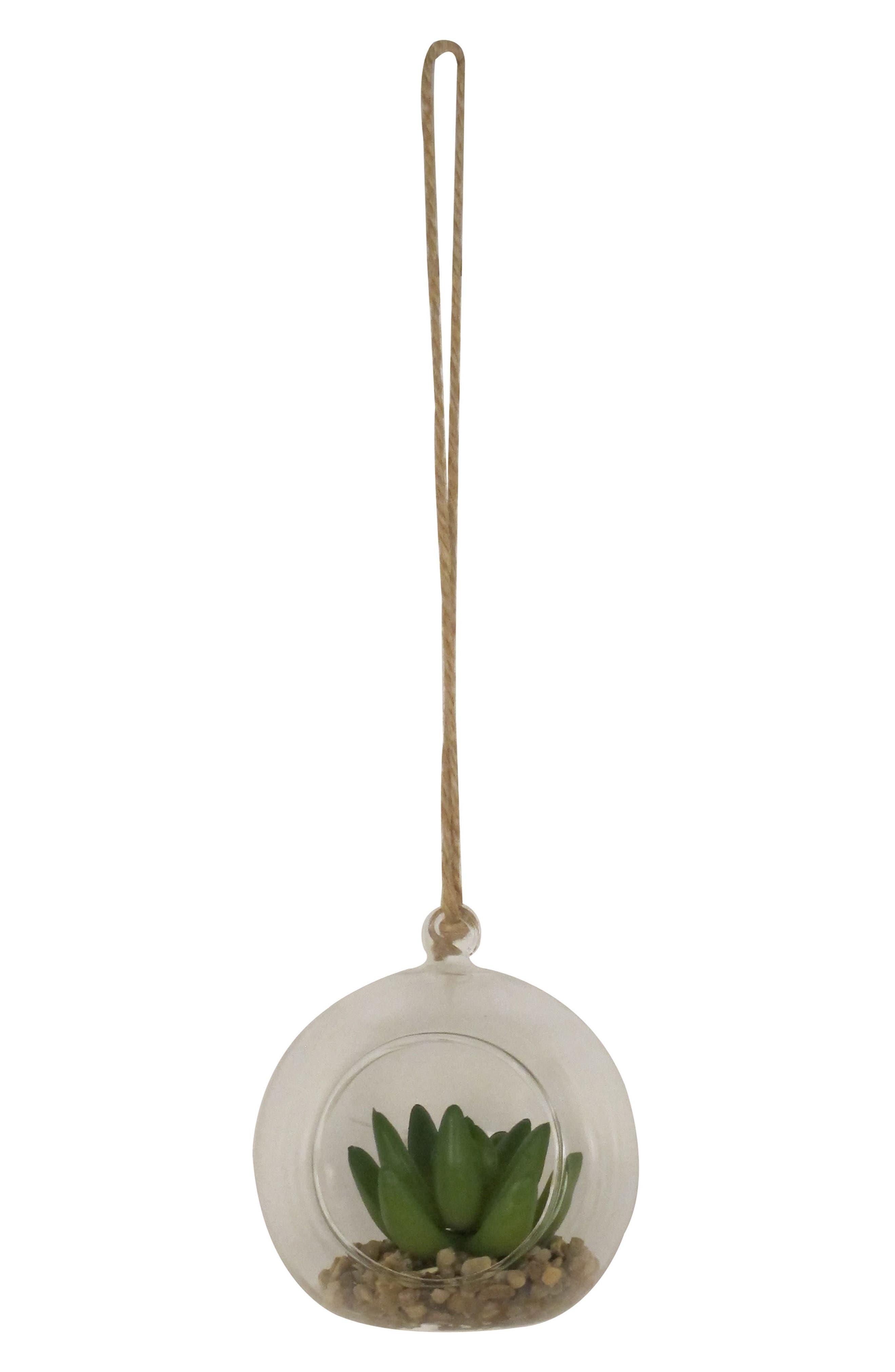 Crystal Art Gallery Round Mini Planter