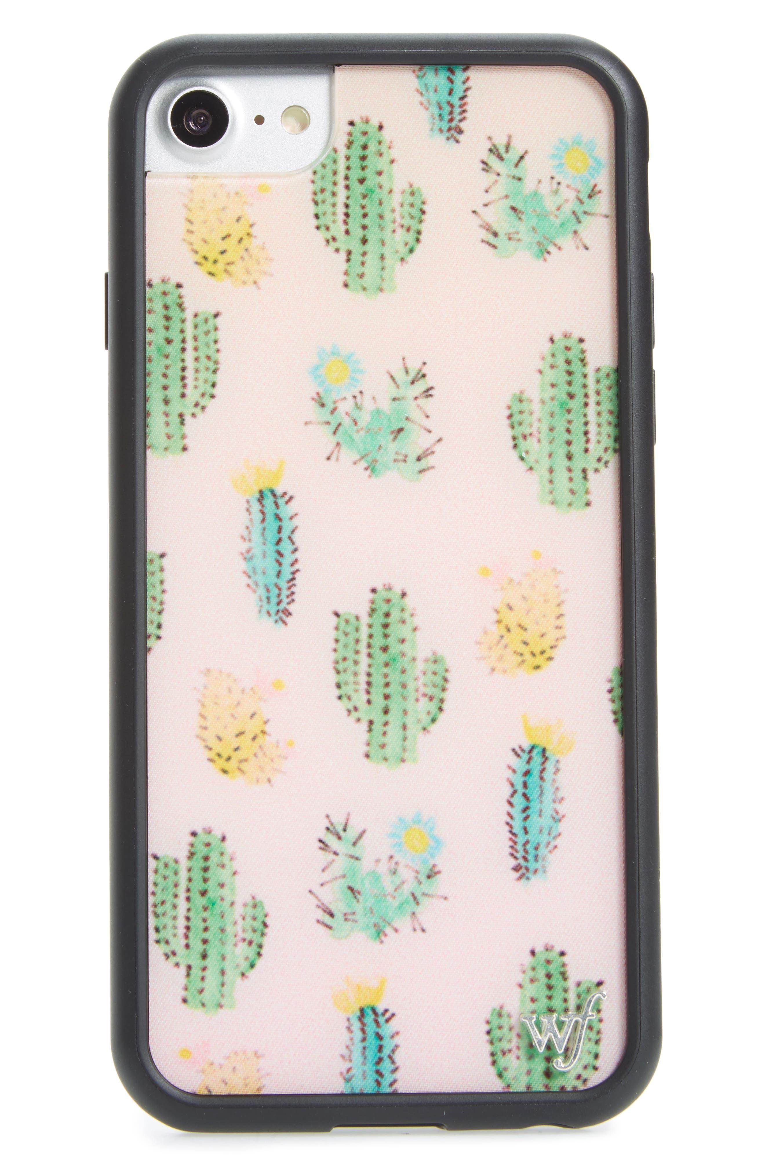 Wildflower Cactus iPhone 6/6s/7 Case