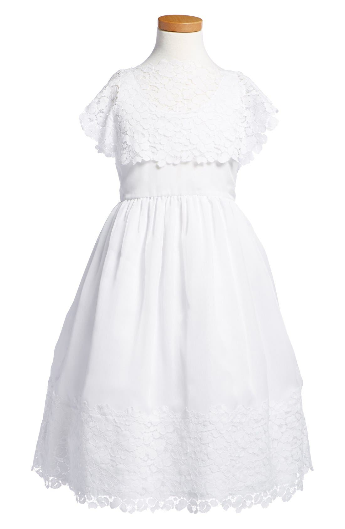 Isabel Garreton Floral Lace Dress (Little Girls & Big Girls)