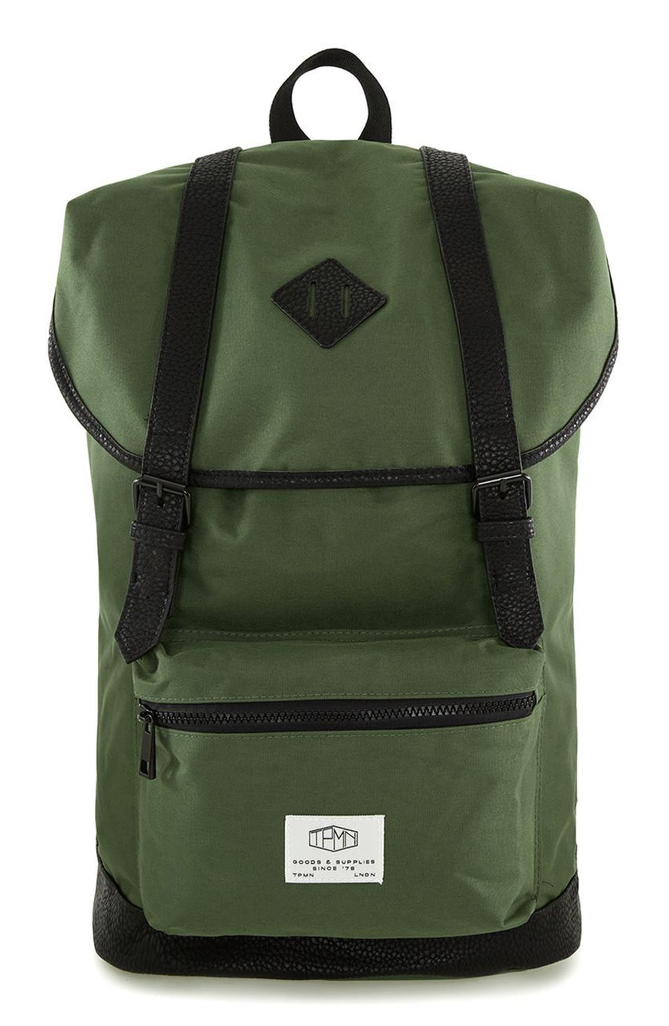 Topman Explorer Flap Top Backpack