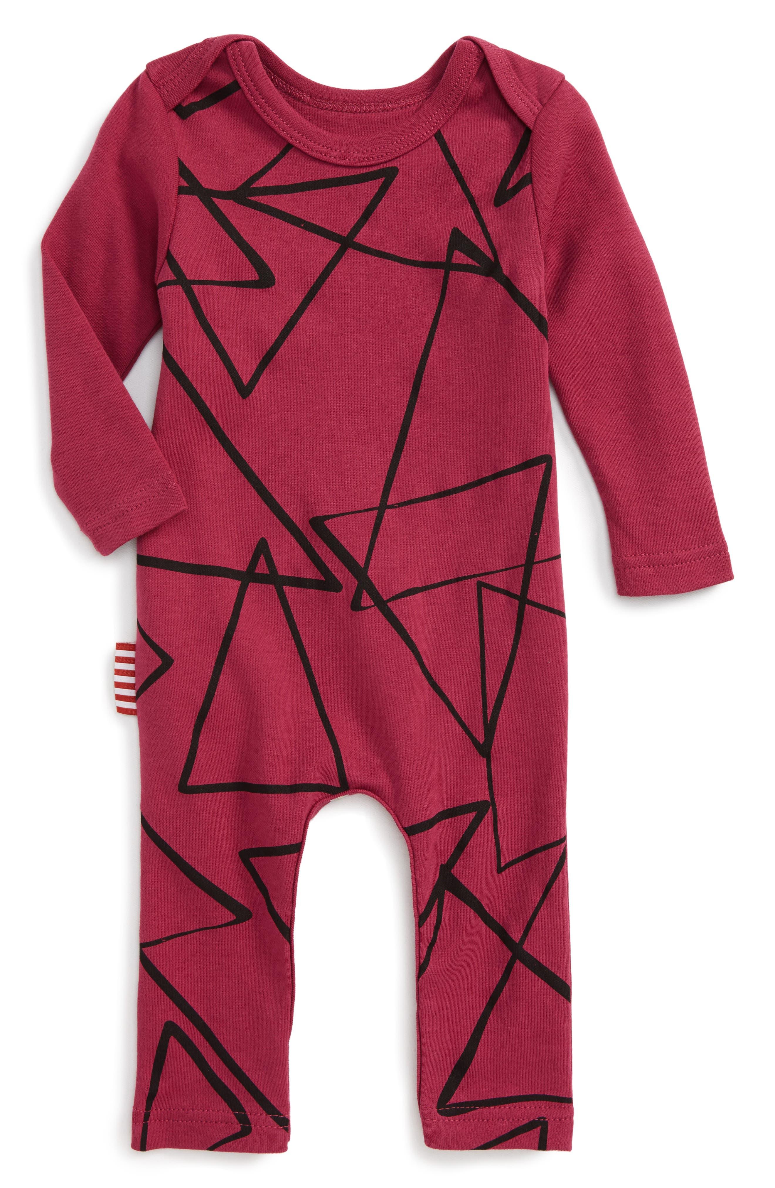 SOOKIbaby Geo Print Romper (Baby)