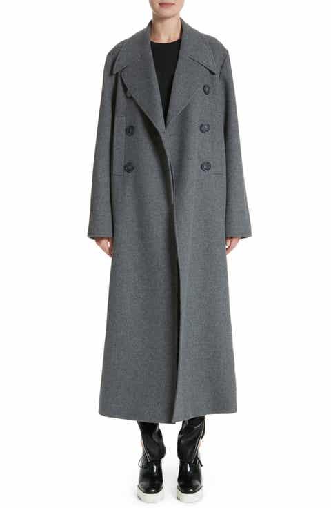 Women's Grey Wool Coats | Nordstrom
