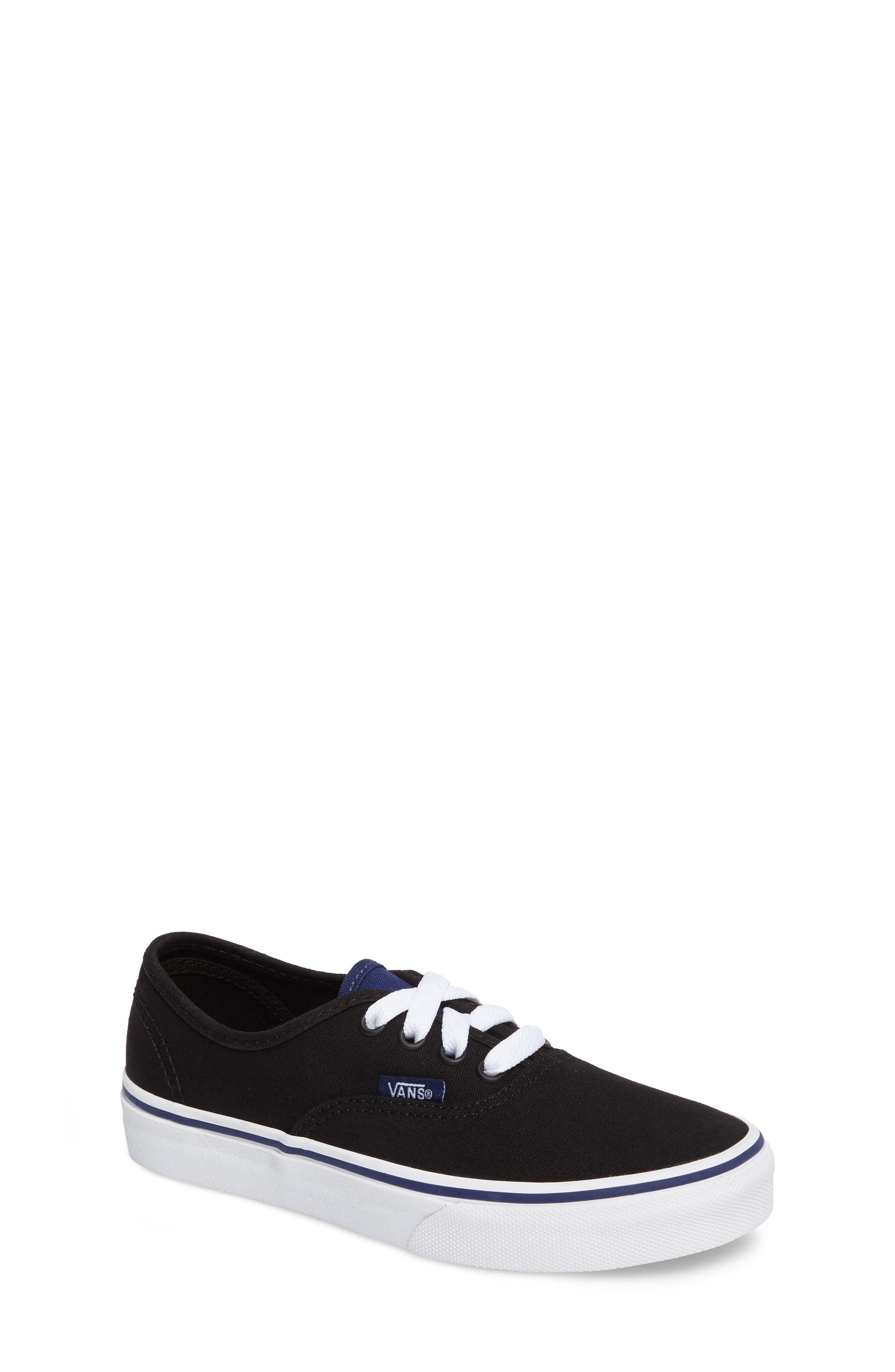 Main Image - Vans 'Authentic' Sneaker (Little Kid & Big Kid)