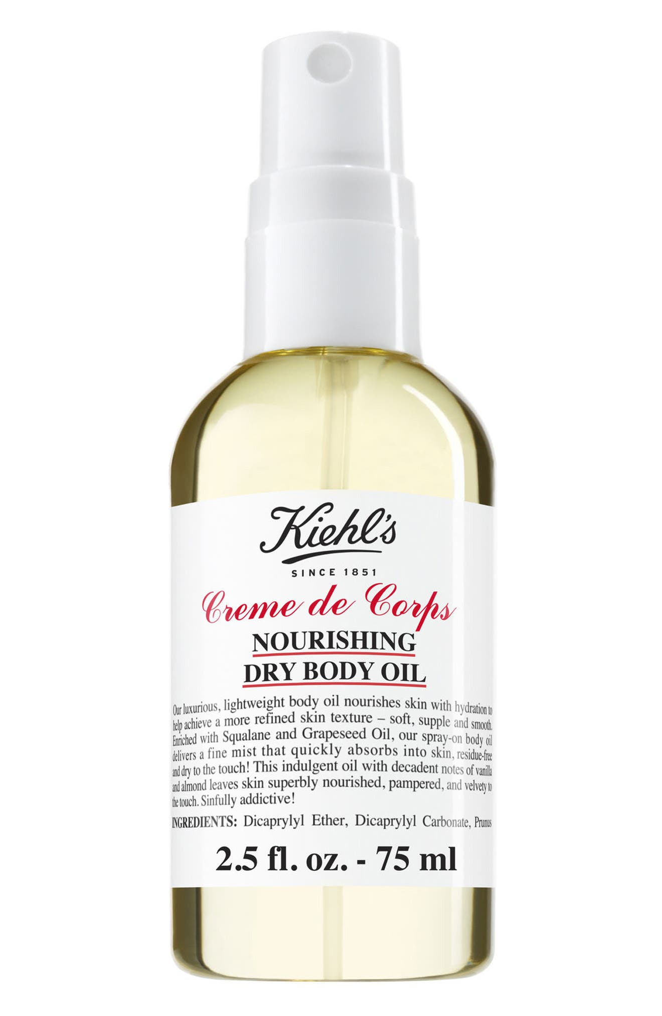 Kiehl's Since 1851 Creme de Corps Nourishing Dry Body Oil