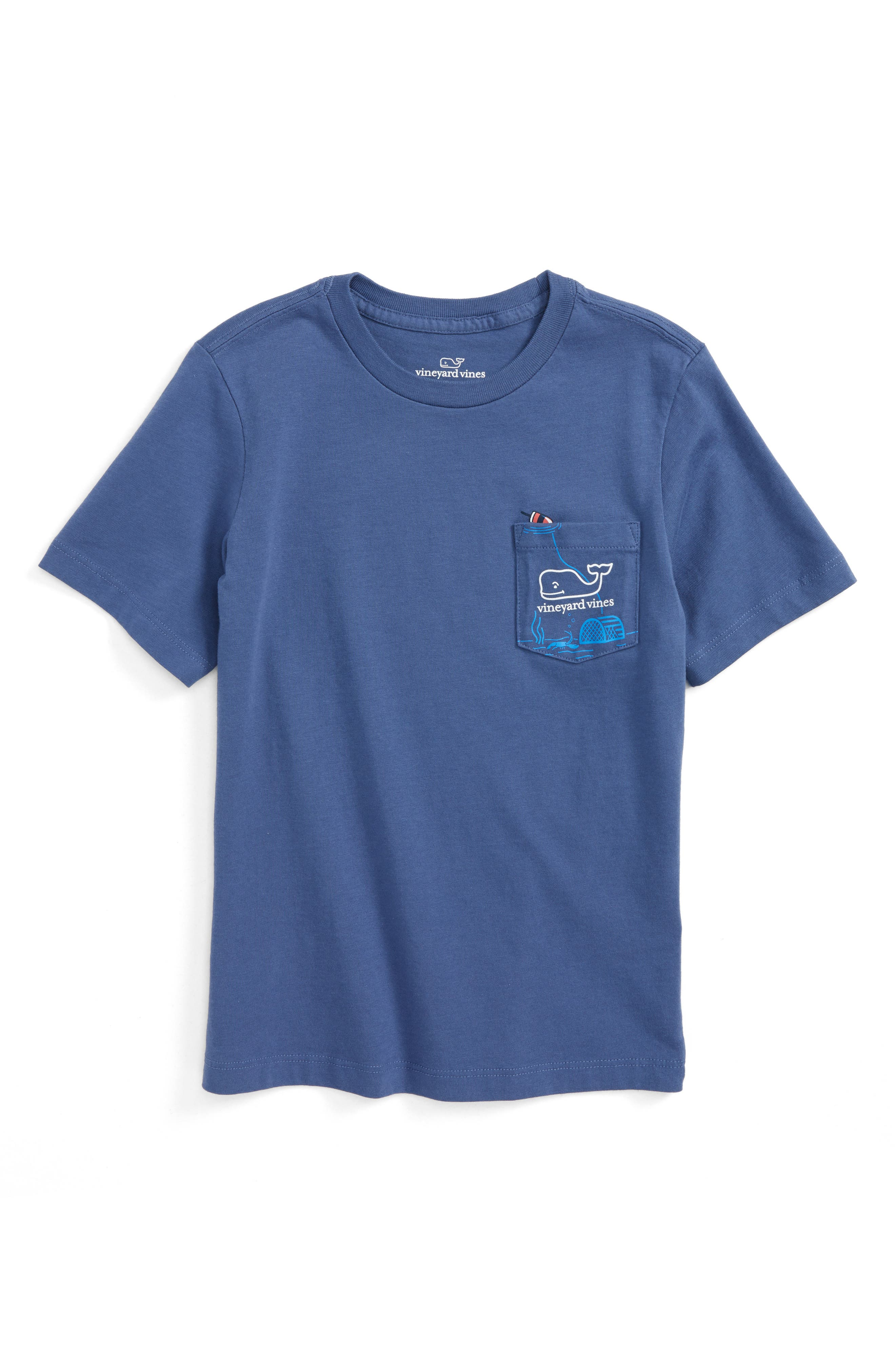 Vineyard Vines Lobster Trap Cotton T-Shirt (Toddler Boys, Little Boys & Big Boys)