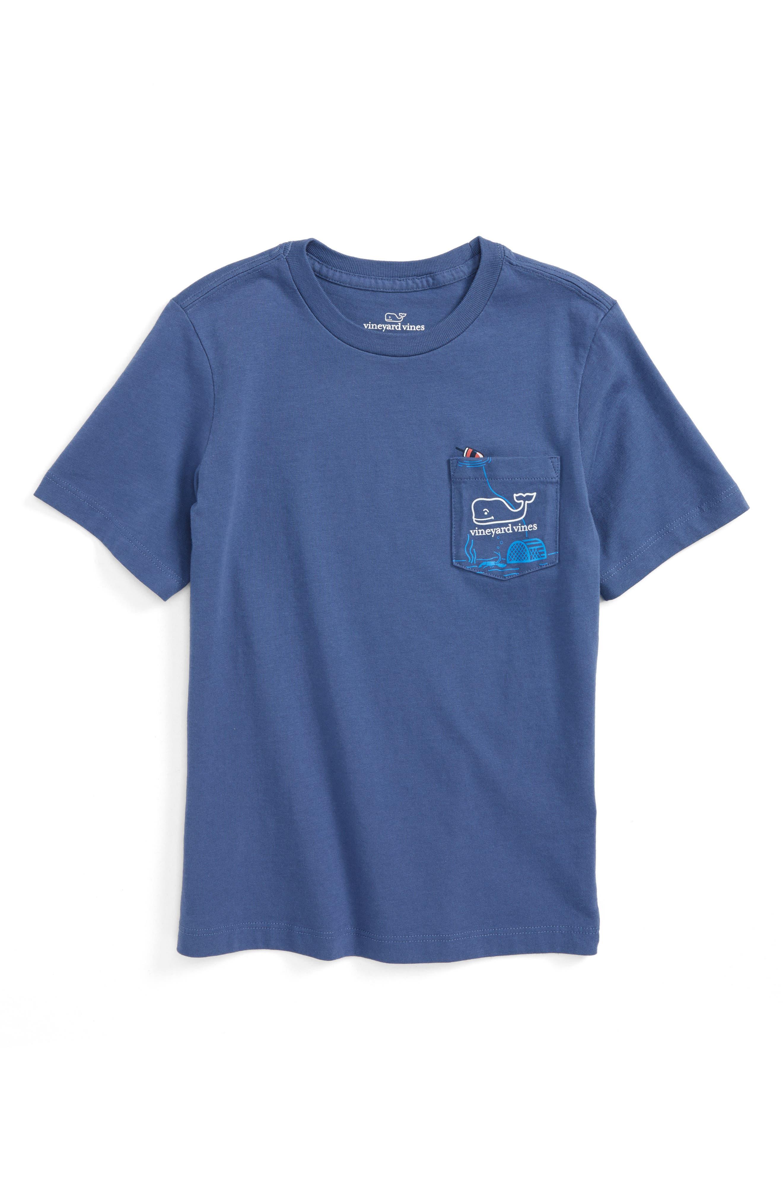 Vineyard Vines Lobster Trap Cotton T-Shirt (Toddler Boys, Little Boys & Big Boys)