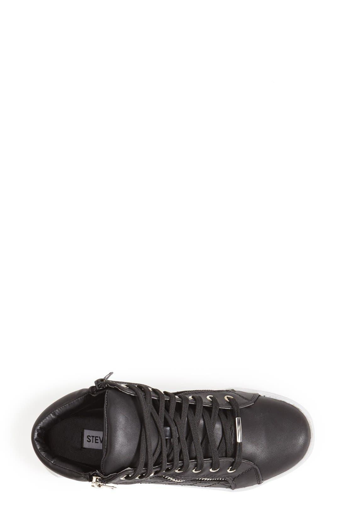 Alternate Image 3  - Steve Madden 'Decaf' Quilted High Top Sneaker (Women)
