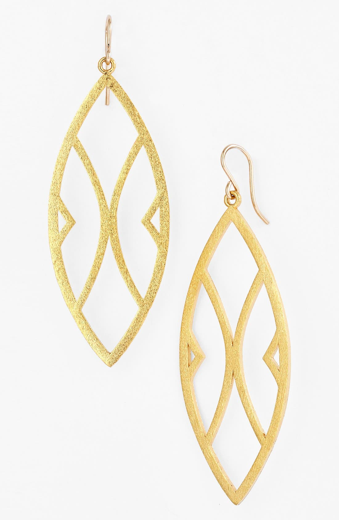 Alternate Image 1 Selected - Dogeared 'Be Your Own Kind of Beautiful' Boxed Drop Earrings