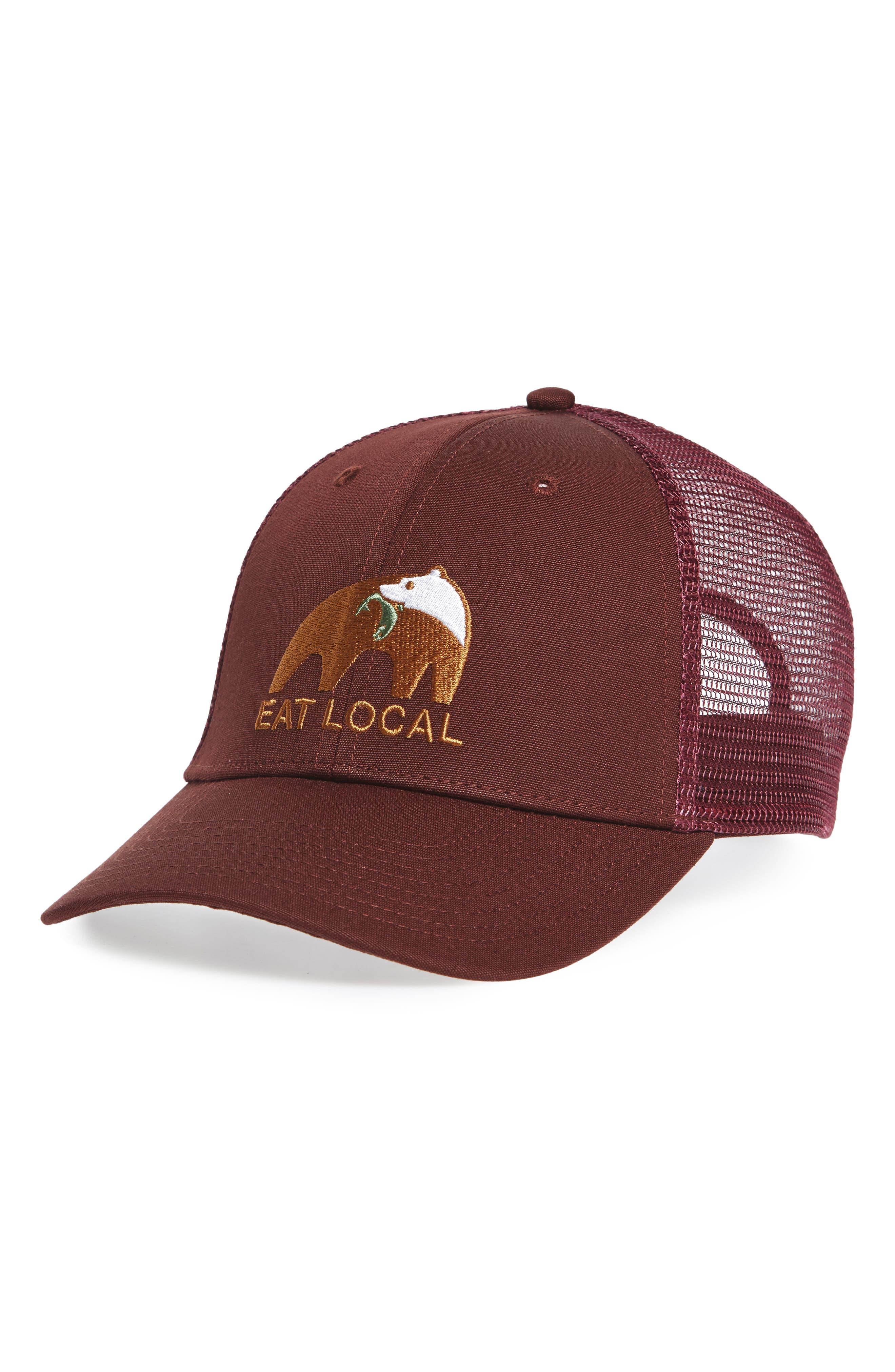 Patagonia Eat Local Upstream Trucker Hat