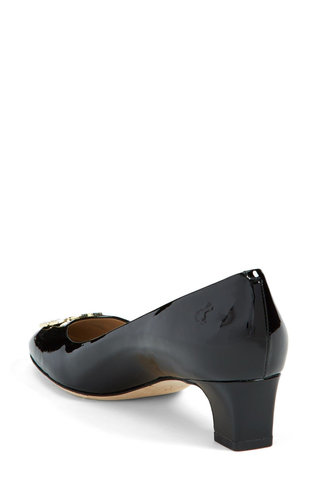 Alternate Image 2  - Tory Burch 'Raleigh' Patent Leather Pump (Women)