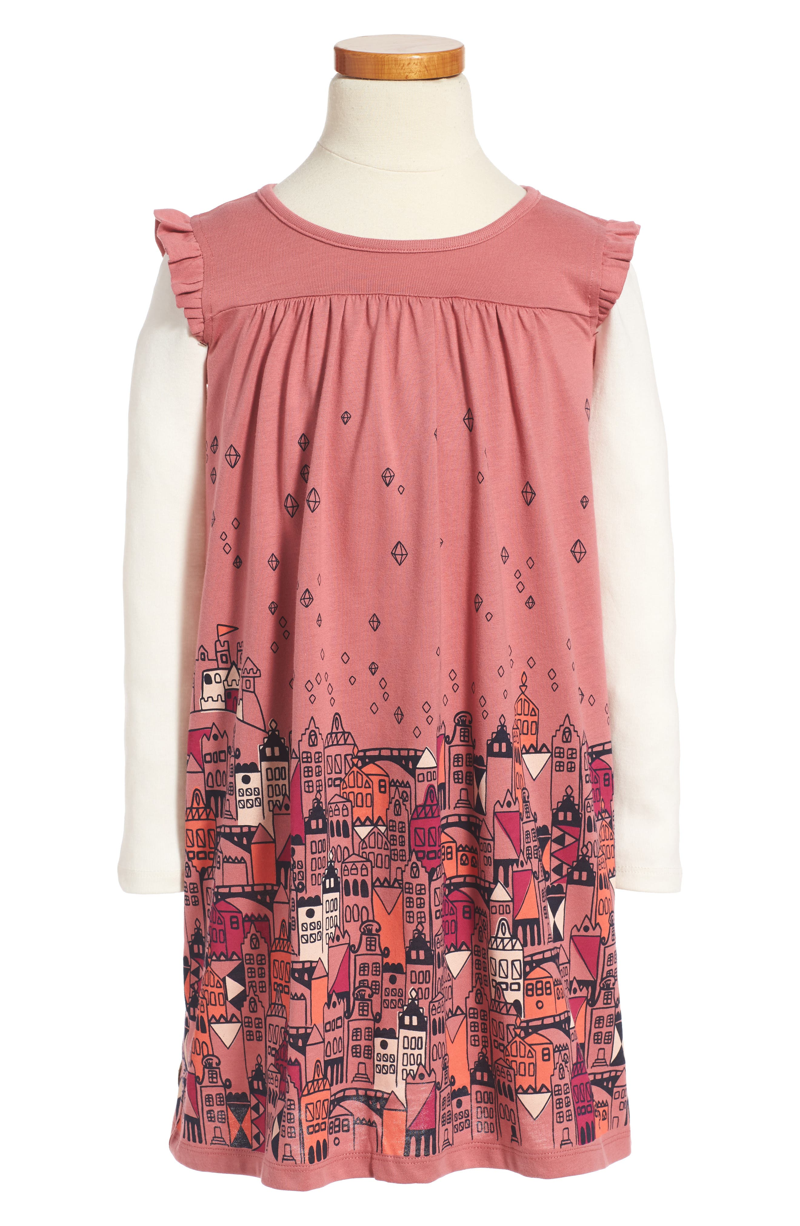 Tea Collection Edinburgh Mighty - Double Decker Dress (Toddler Girls, Little Girls & Big Girls)