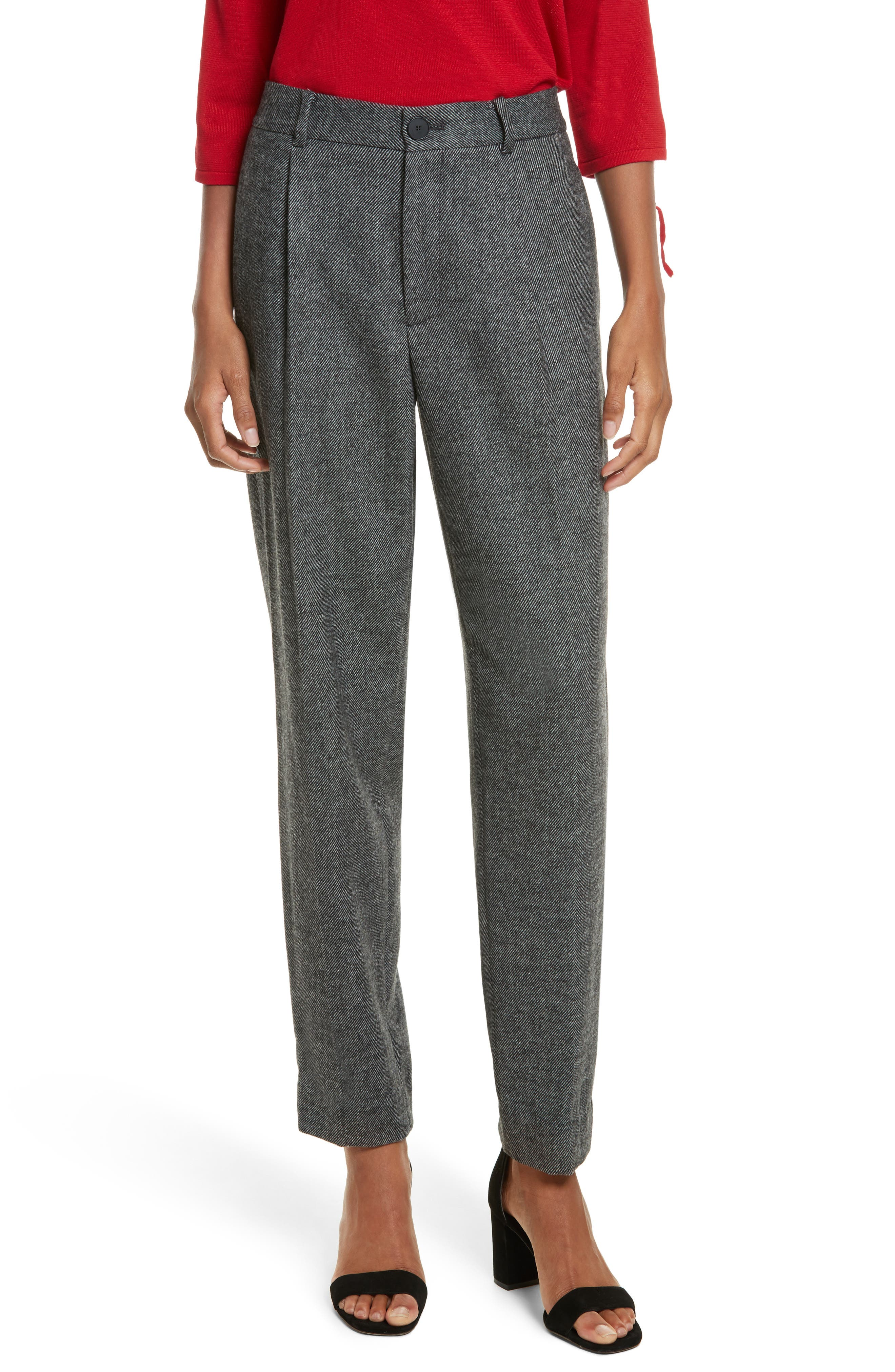 GREY Jason Wu Pleated Flannel Pants