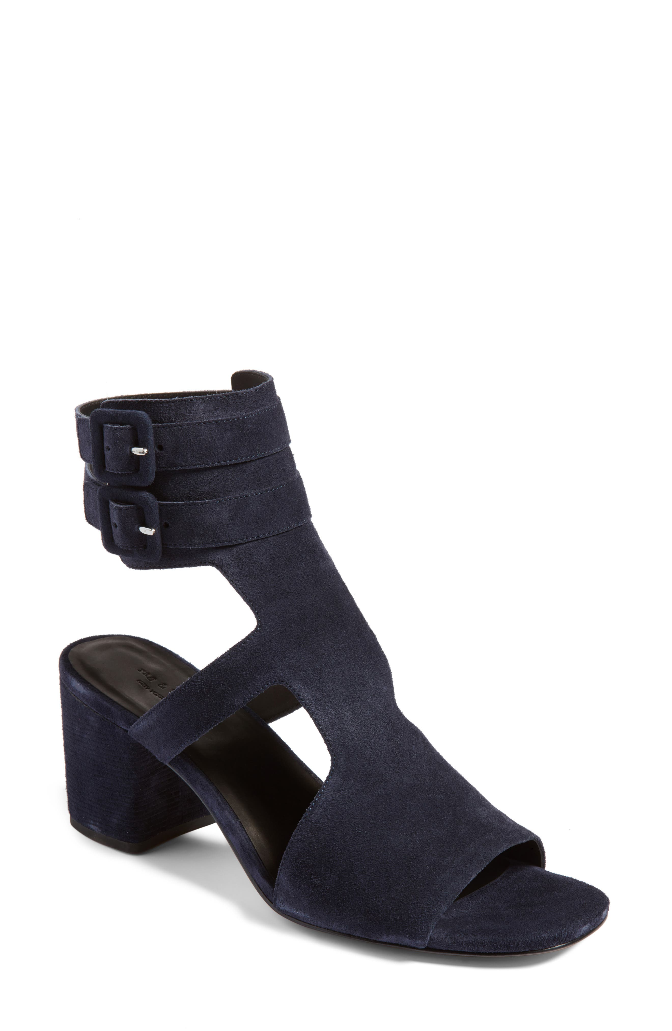 rag & bone Madison Buckle Cuff Sandal (Women)