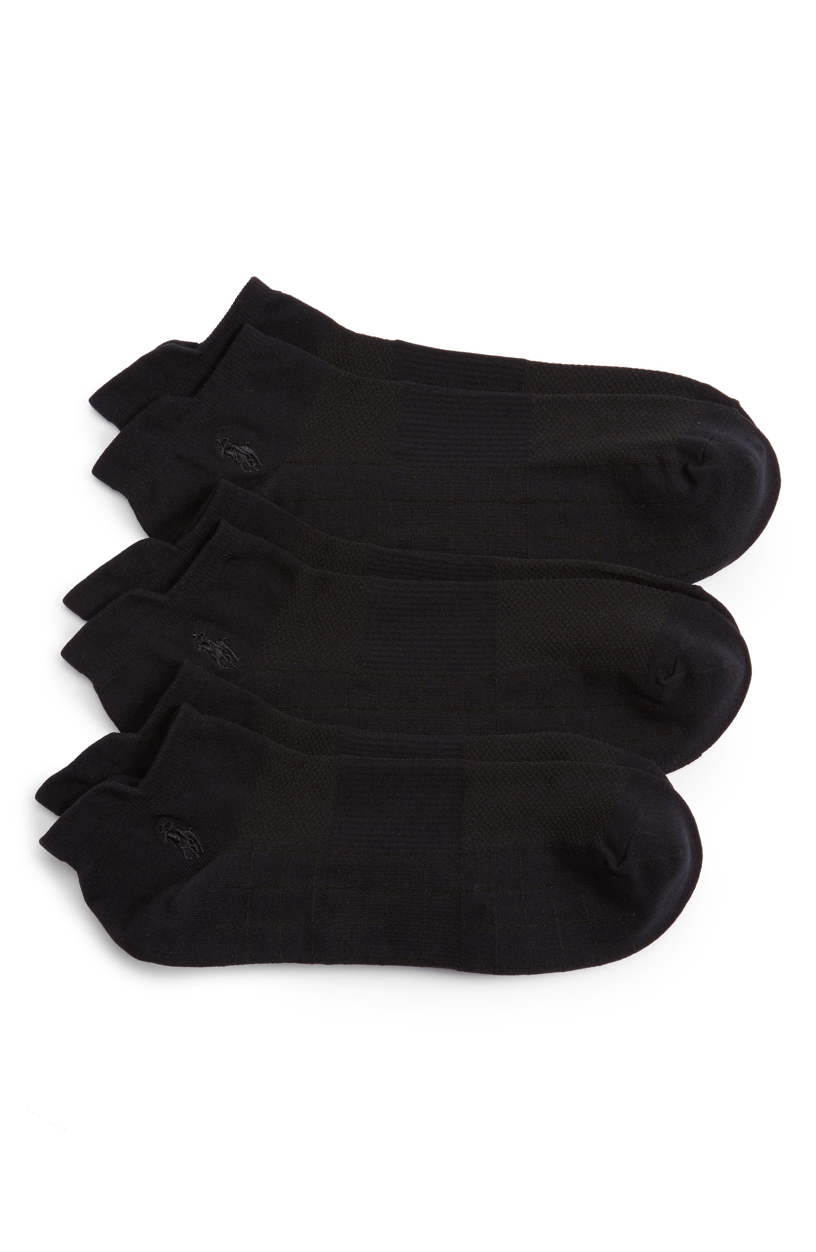 Polo Ralph Lauren 'Teach Ghost' Socks (Assorted 3-Pack)