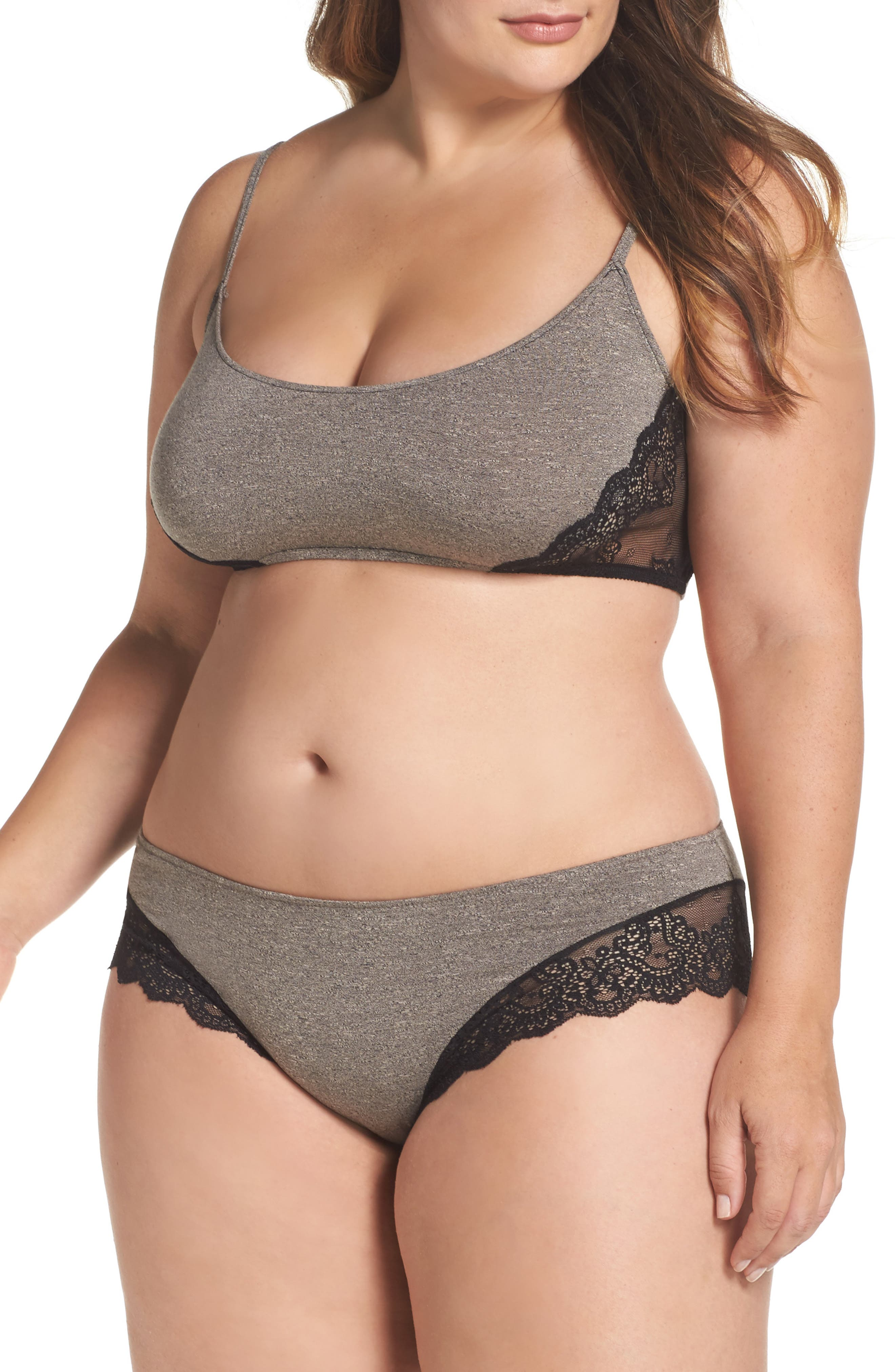 Only Hearts So Fine Bralette & Panties (Plus Size)