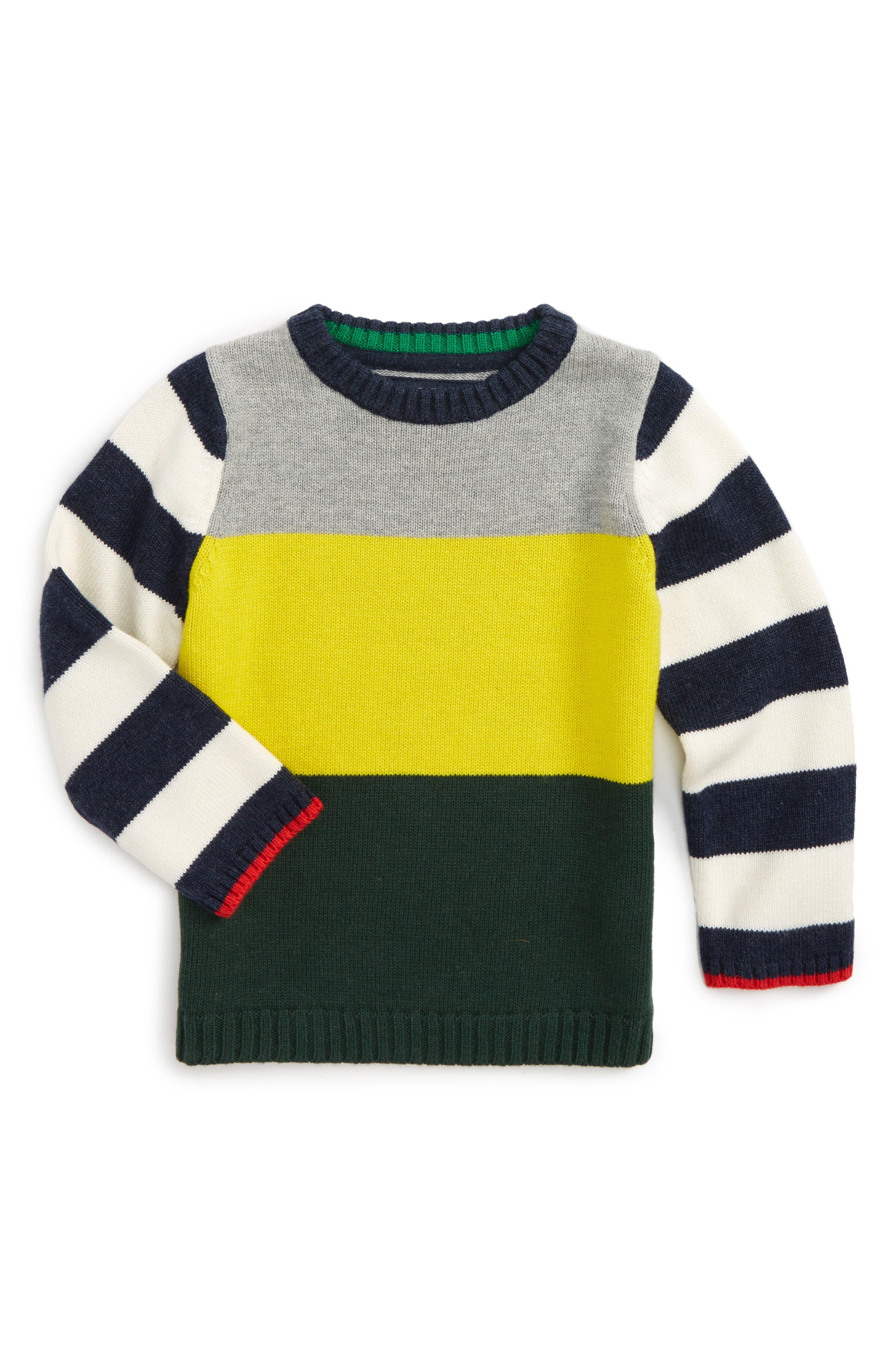 Mini Boden Hotchpotch Sweater (Toddler Boys, Little Boys & Big Boys)