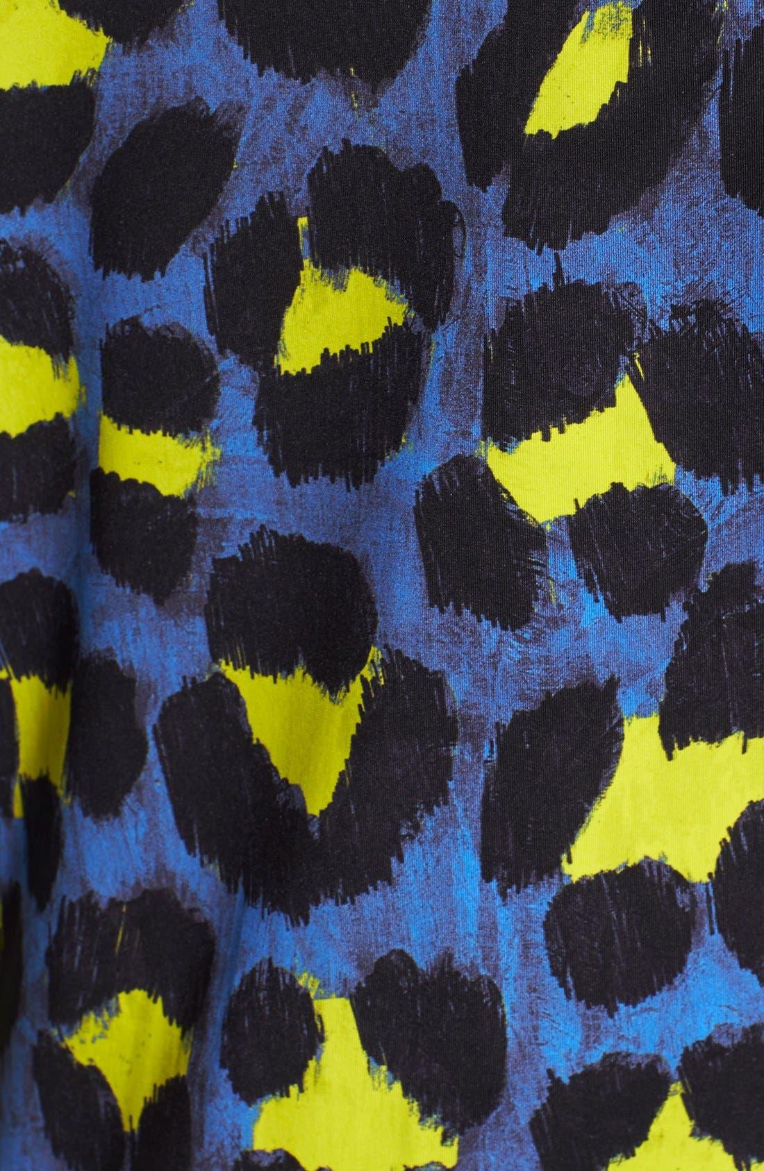 Alternate Image 3  - Just Cavalli Leopard Print Jersey Dress