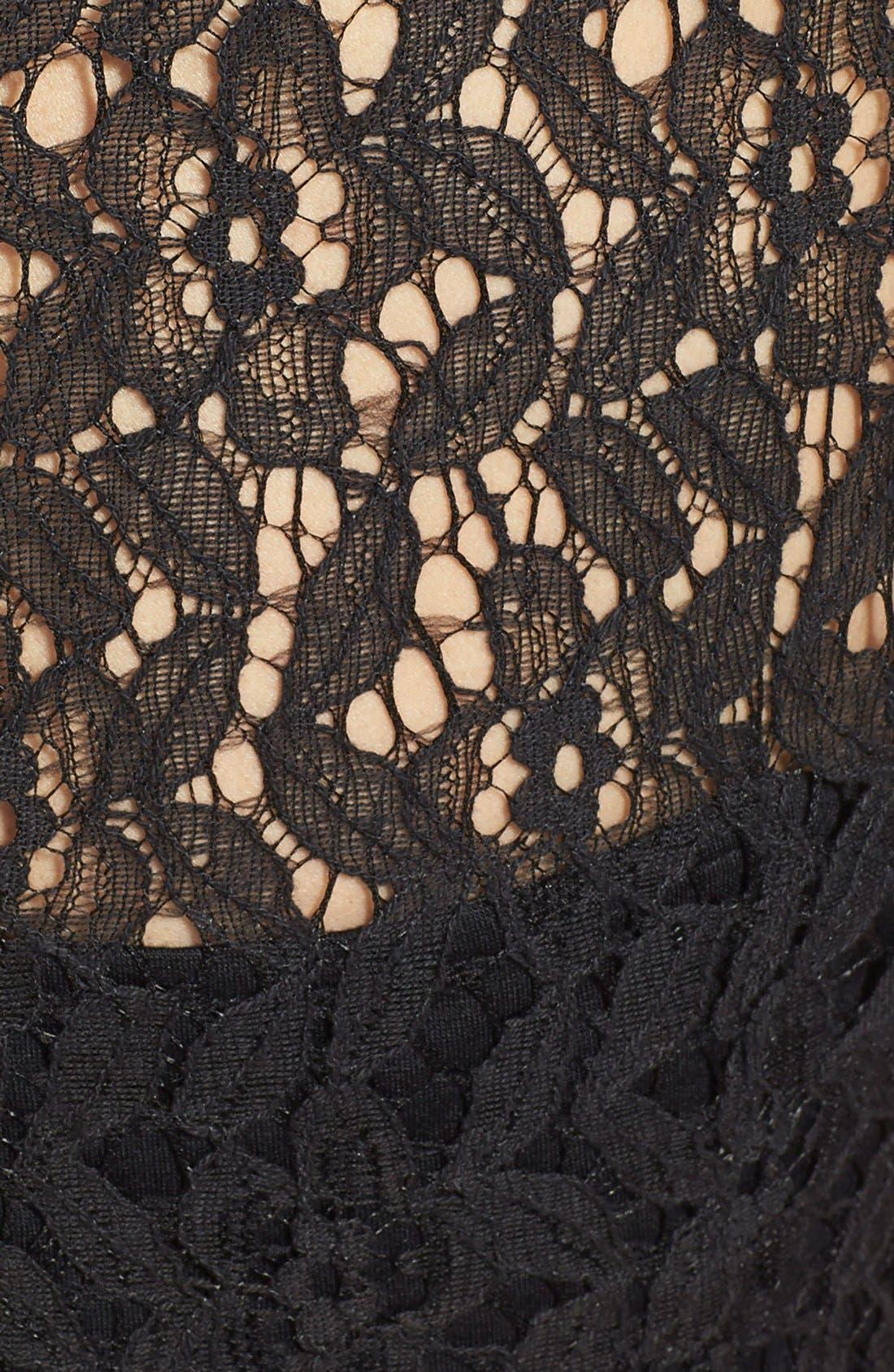 Alternate Image 3  - Miss Me Lace Crop Top