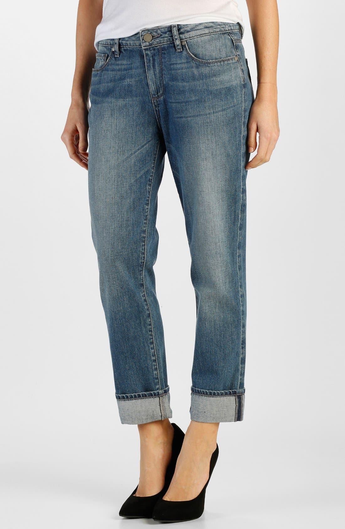 Alternate Image 1 Selected - Paige Denim 'Porter' Boyfriend Jeans (Dazeley)