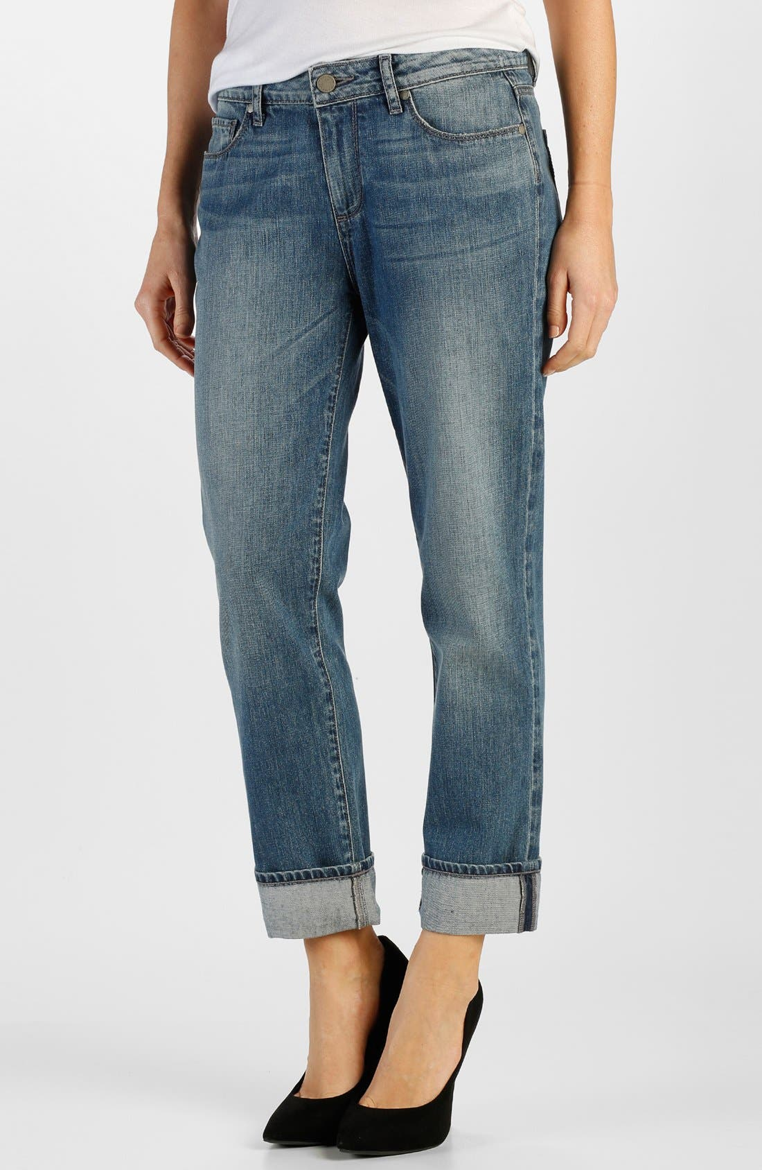 Main Image - Paige Denim 'Porter' Boyfriend Jeans (Dazeley)