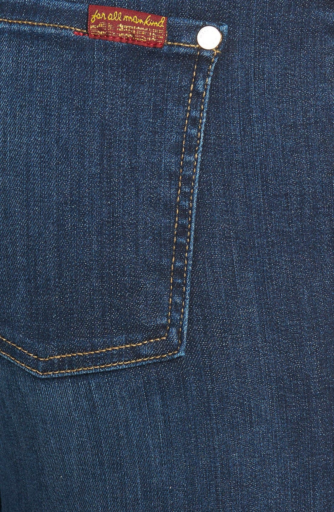 Alternate Image 3  - 7 For All Mankind® 'The High Waisted Skinny' Jeans