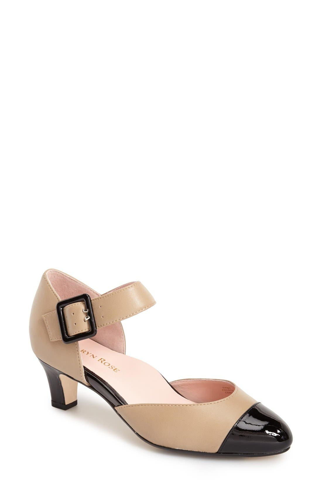 Alternate Image 1 Selected - Taryn Rose 'Toody Leather d'Orsay' Pump (Women)