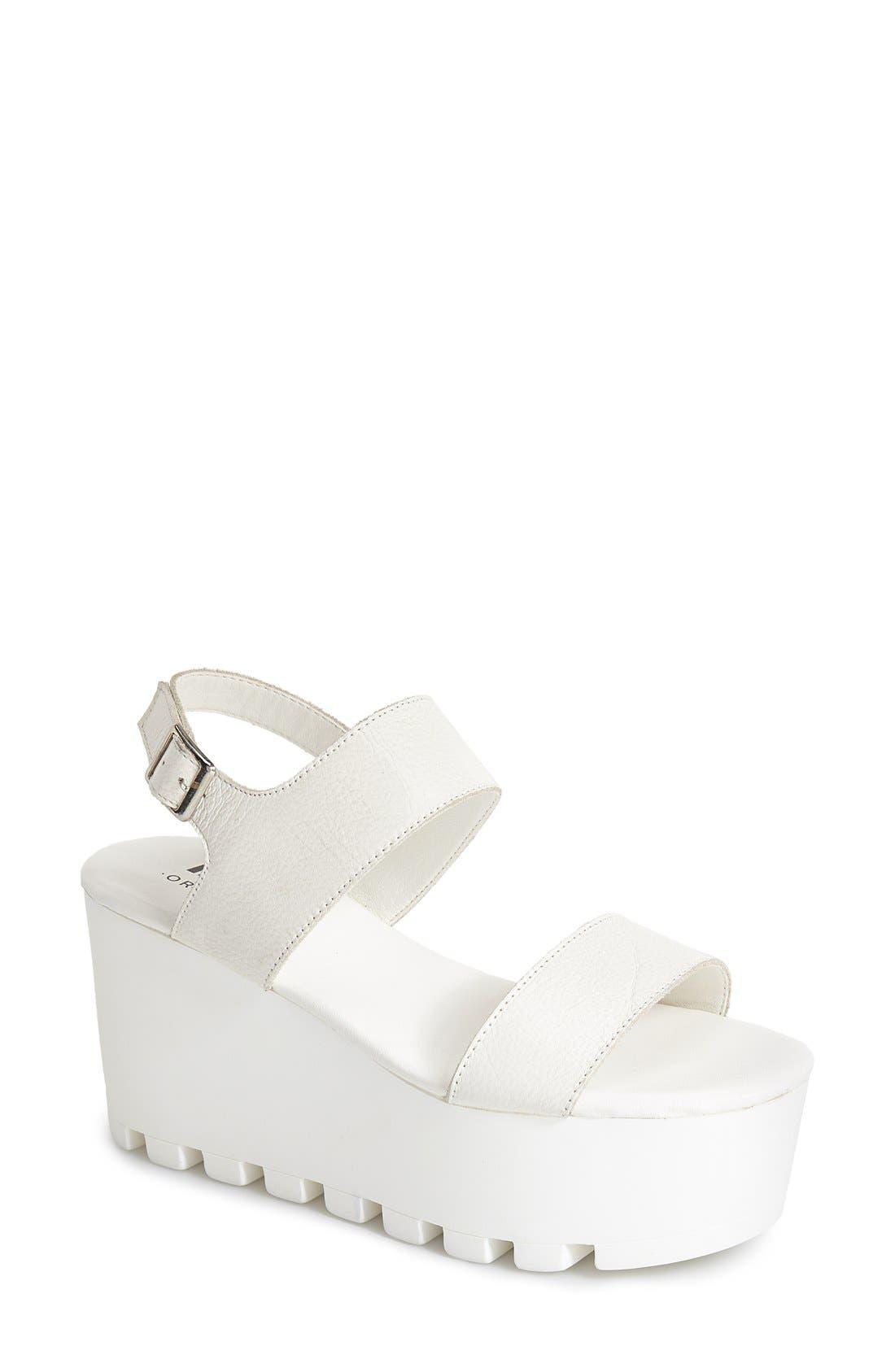 Alternate Image 1 Selected - MTNG Originals 'Amber' Platform Sandal (Women)