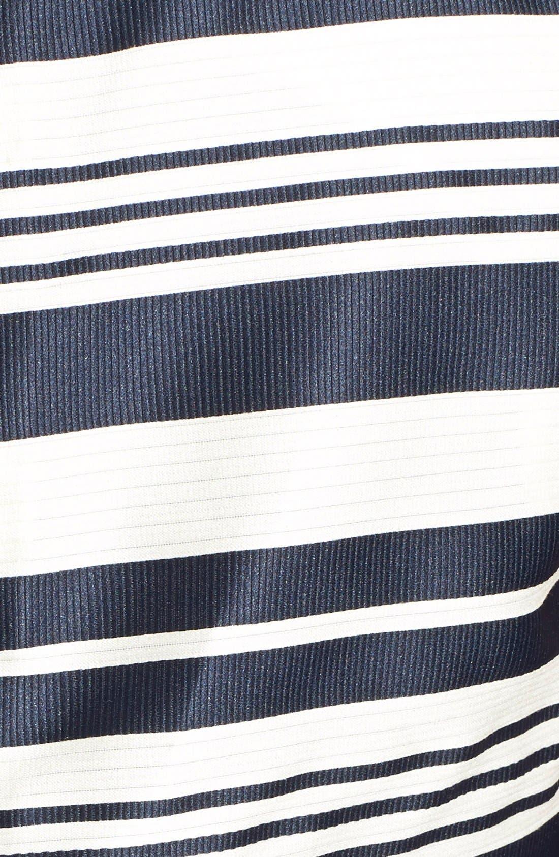 Alternate Image 3  - RED Valentino Stripe Jacquard Crop Top