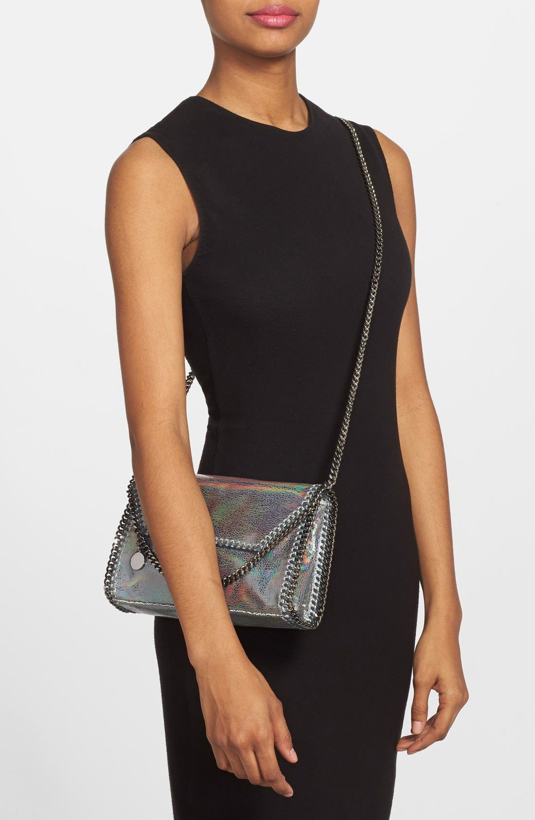 Alternate Image 2  - Stella McCartney 'Mini Falabella - Hologram' Crossbody Bag