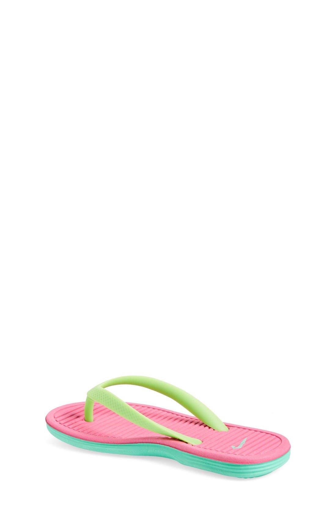 Alternate Image 2  - Nike 'SolarSoft 2' Sandal (Toddler, Little Kid & Big Kid)