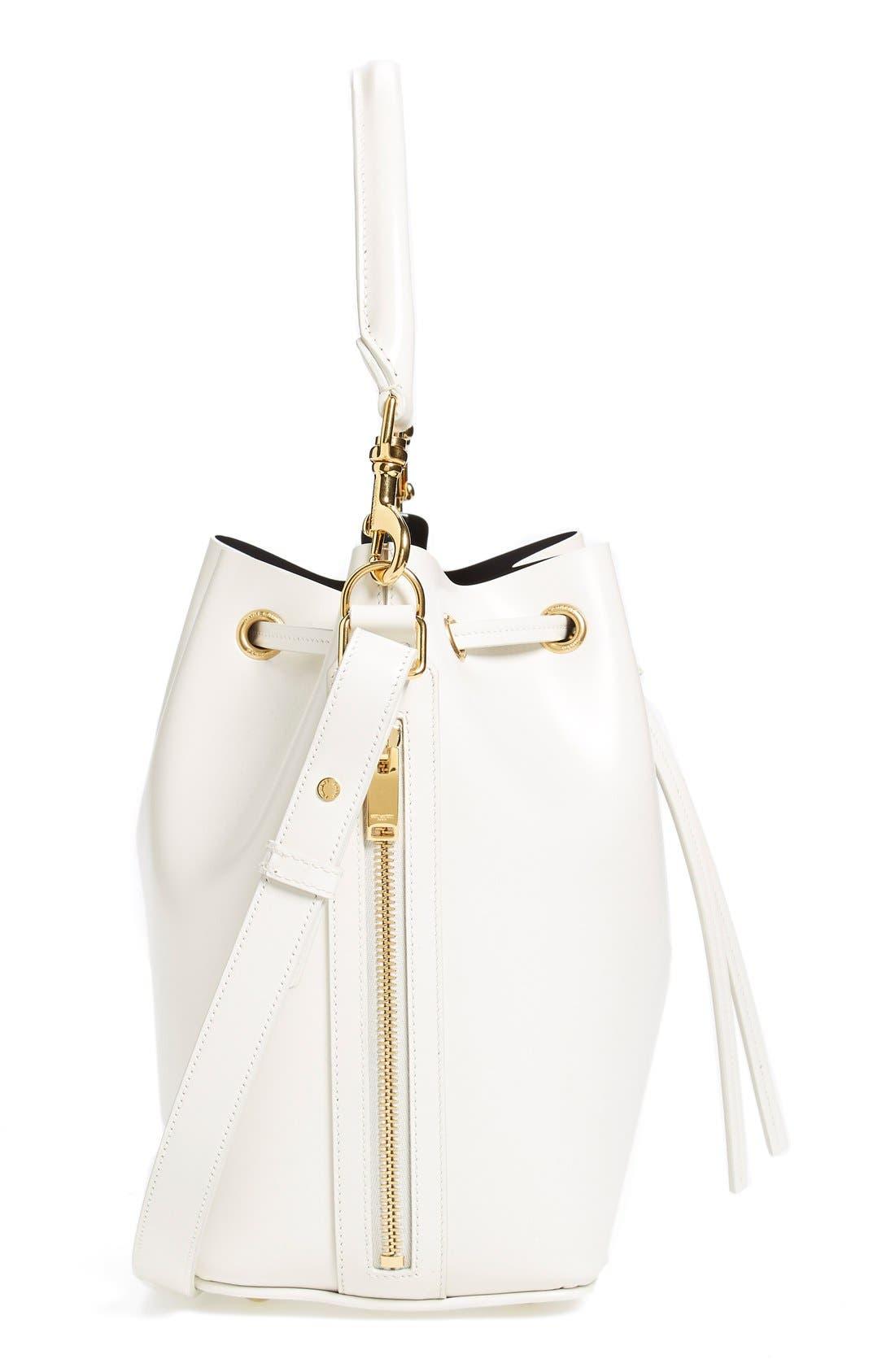 Alternate Image 5  - Saint Laurent Leather Bucket Bag