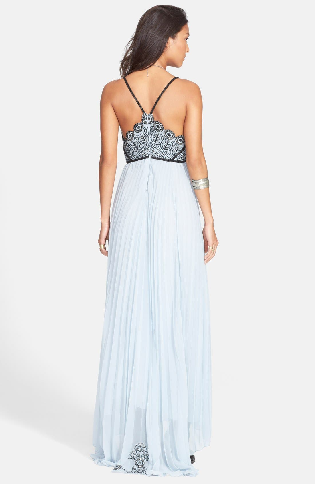 Alternate Image 2  - Free People 'Belle of the Ball' Scallop Bodice Maxi Dress