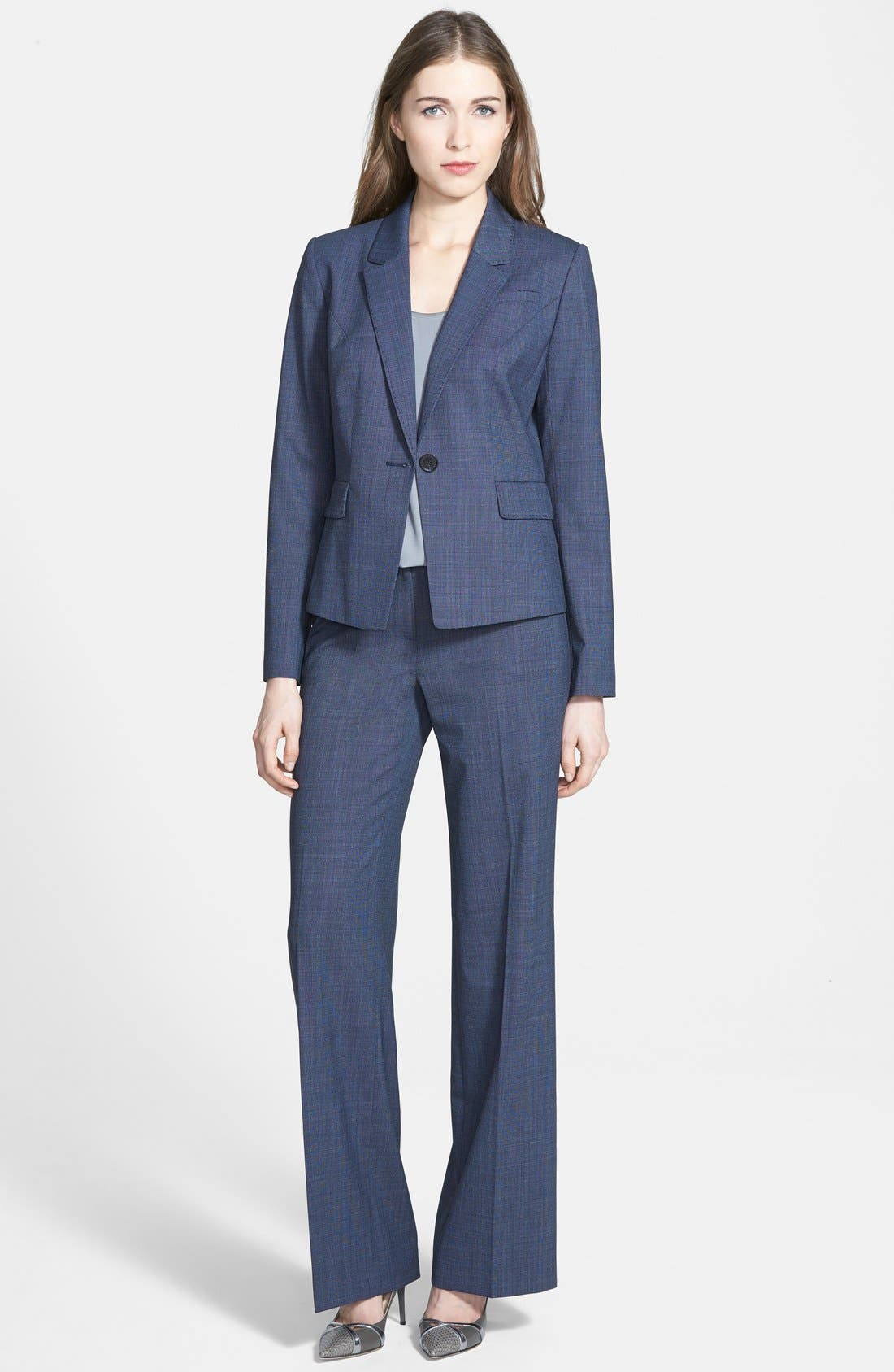 Alternate Image 4  - Classiques Entier® Suiting Trousers (Regular & Petite)