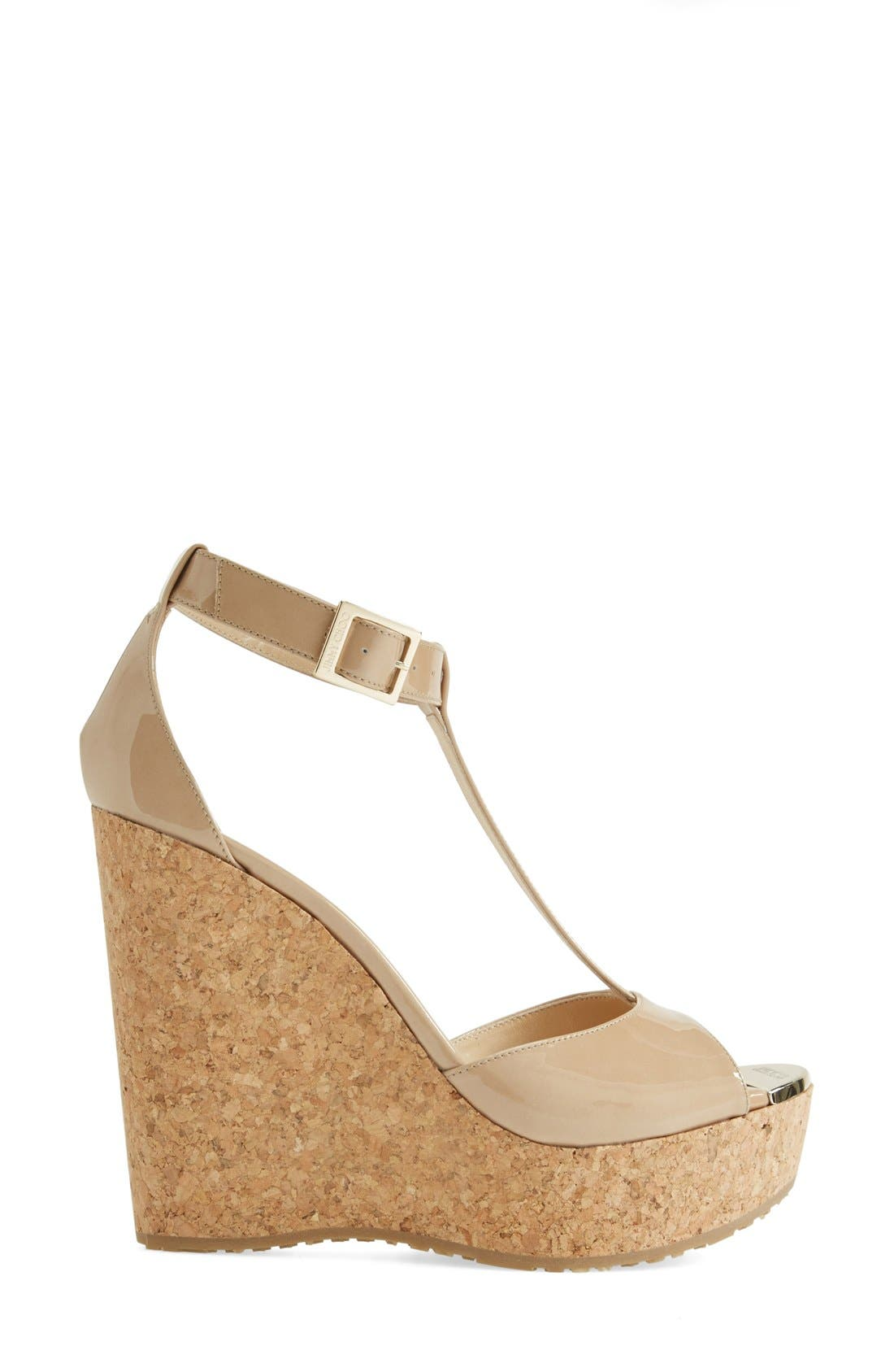 Alternate Image 4  - Jimmy Choo 'Pela' Cork Wedge Sandal (Women)