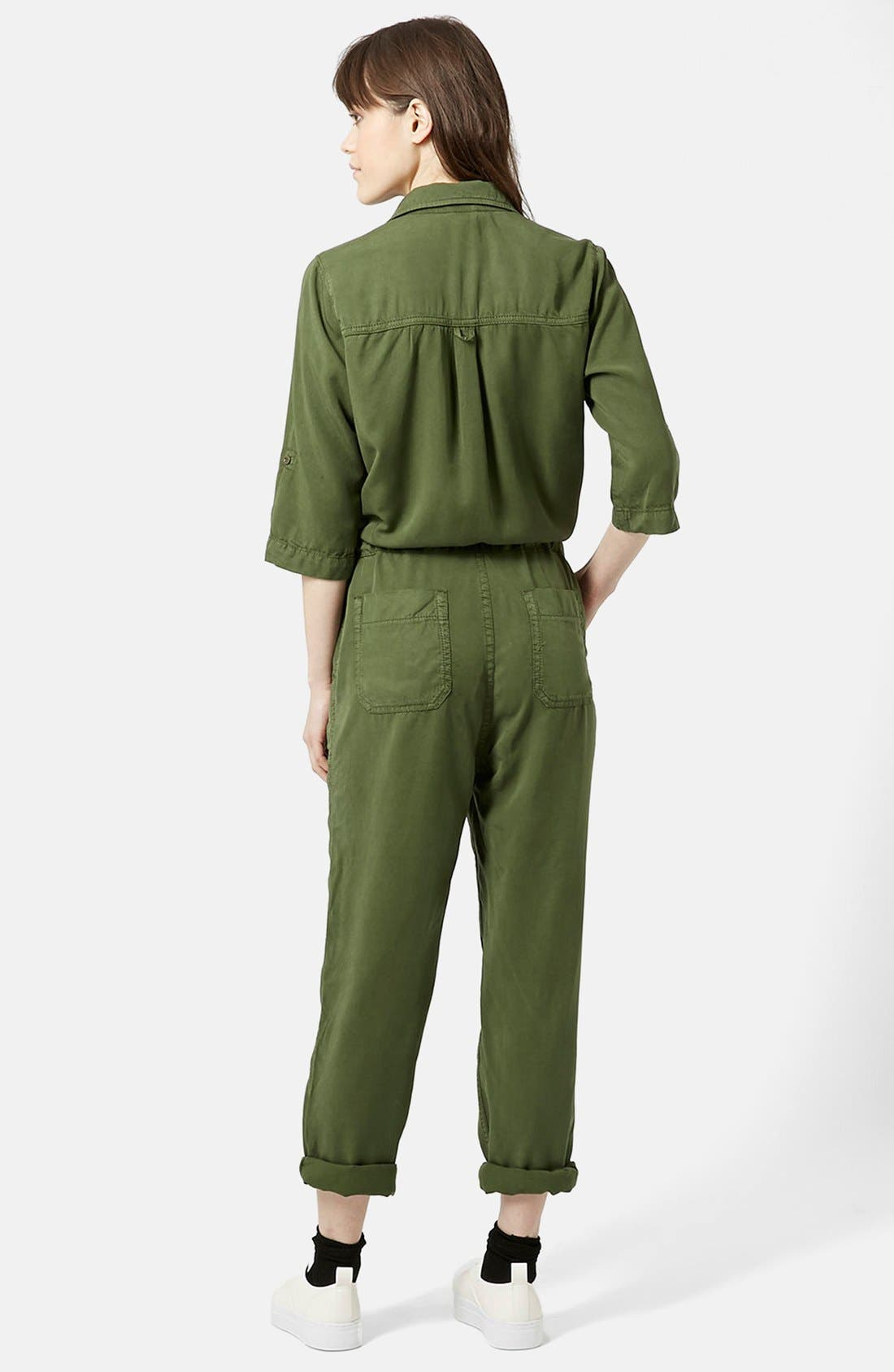 Alternate Image 2  - Topshop 'All in One' Utility Jumpsuit