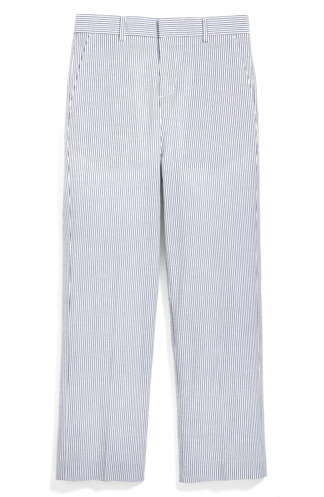Main Image - Nordstrom 'Quentin' Seersucker Trousers (Toddler Boys, Little Boys & Big Boys)