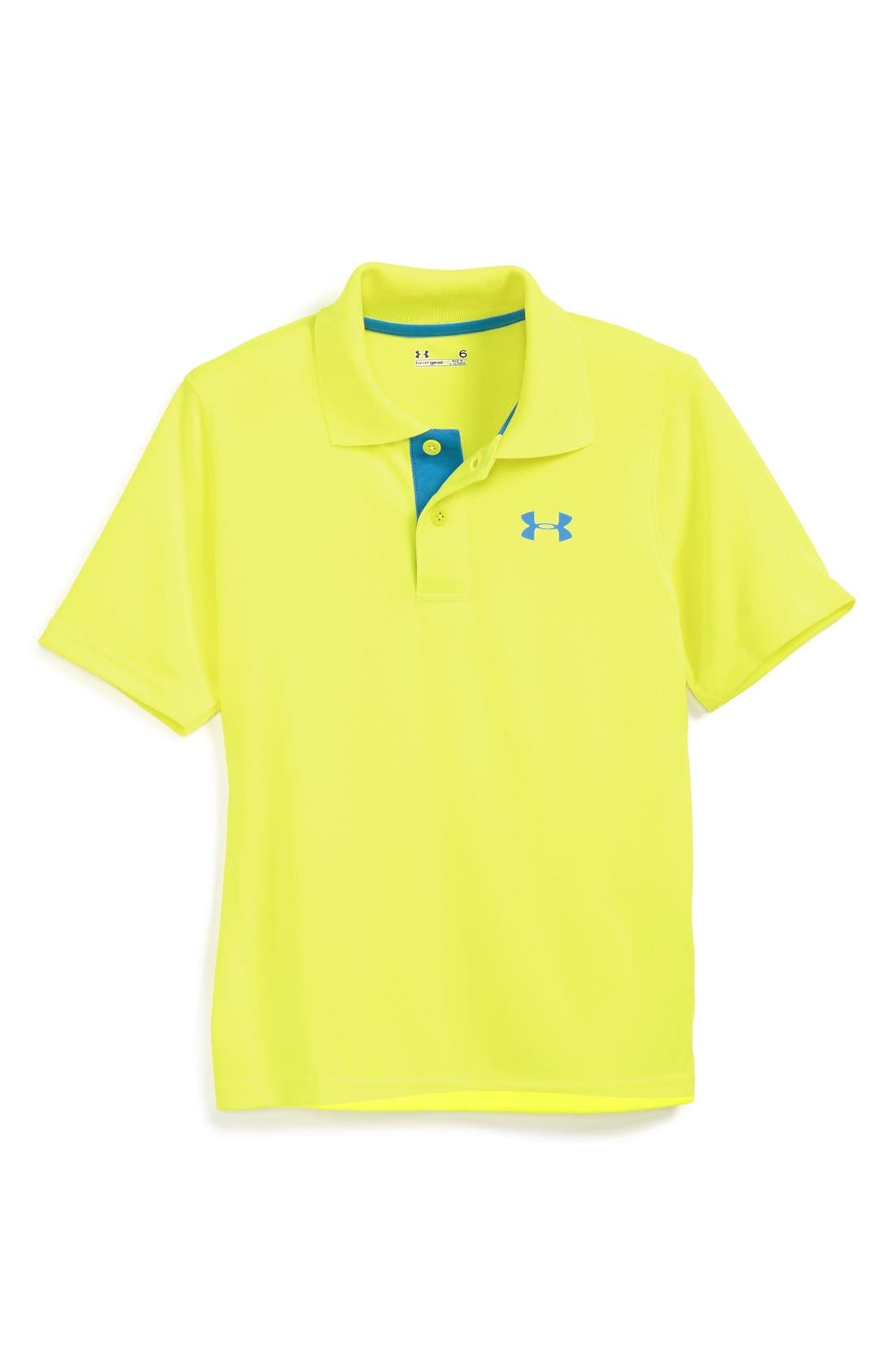 Alternate Image 1 Selected - Under Armour 'Match Play' Polo (Little Boys)