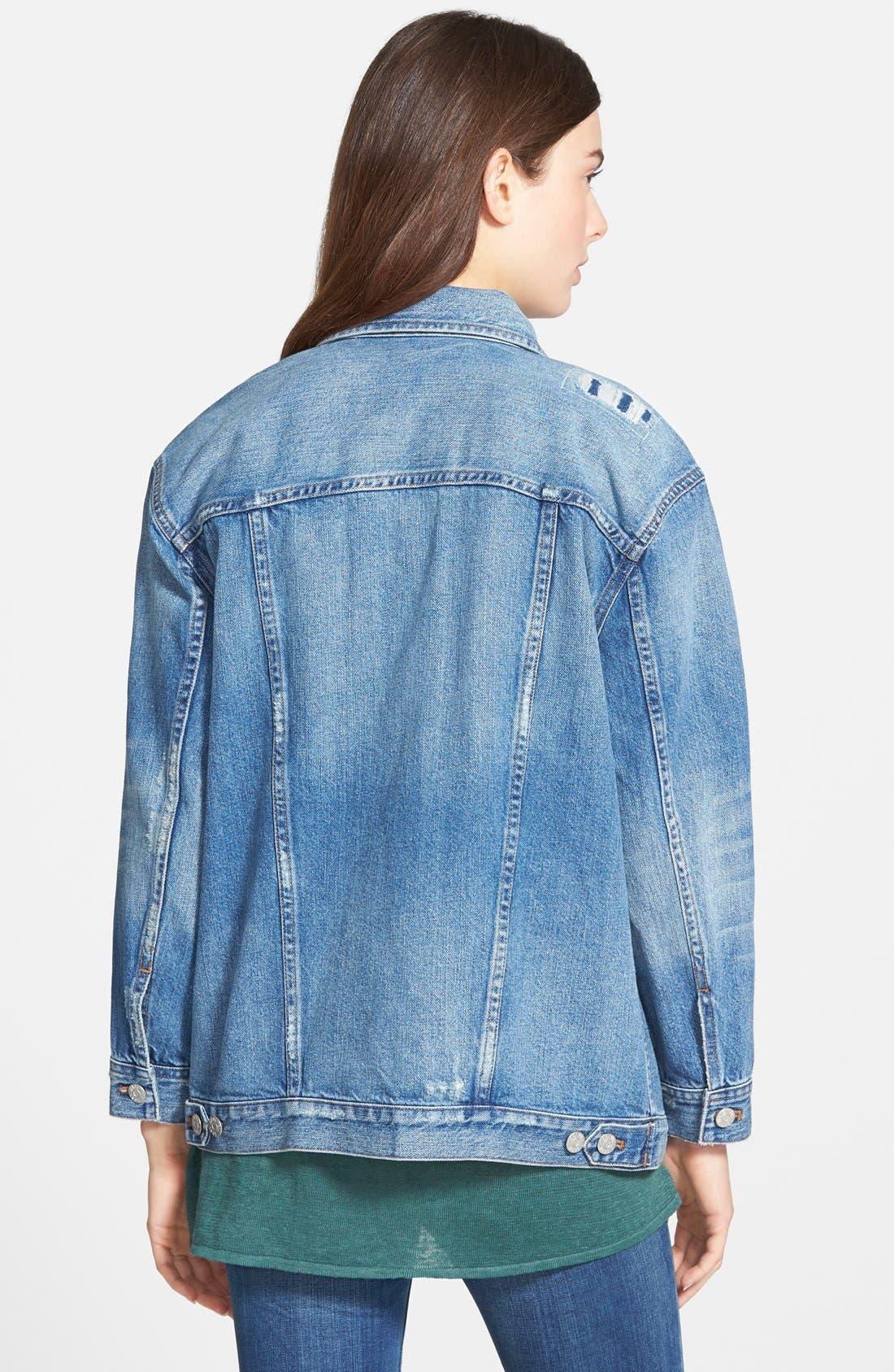 Alternate Image 2  - Madewell Oversize Jean Jacket