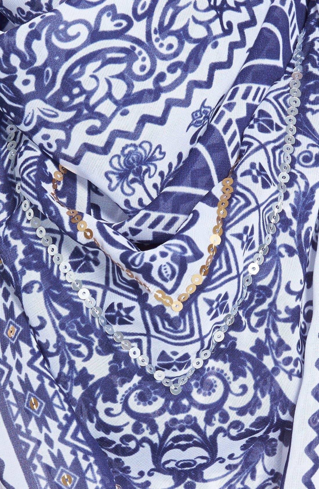 Alternate Image 3  - Accessories 212 Tassel Square Scarf