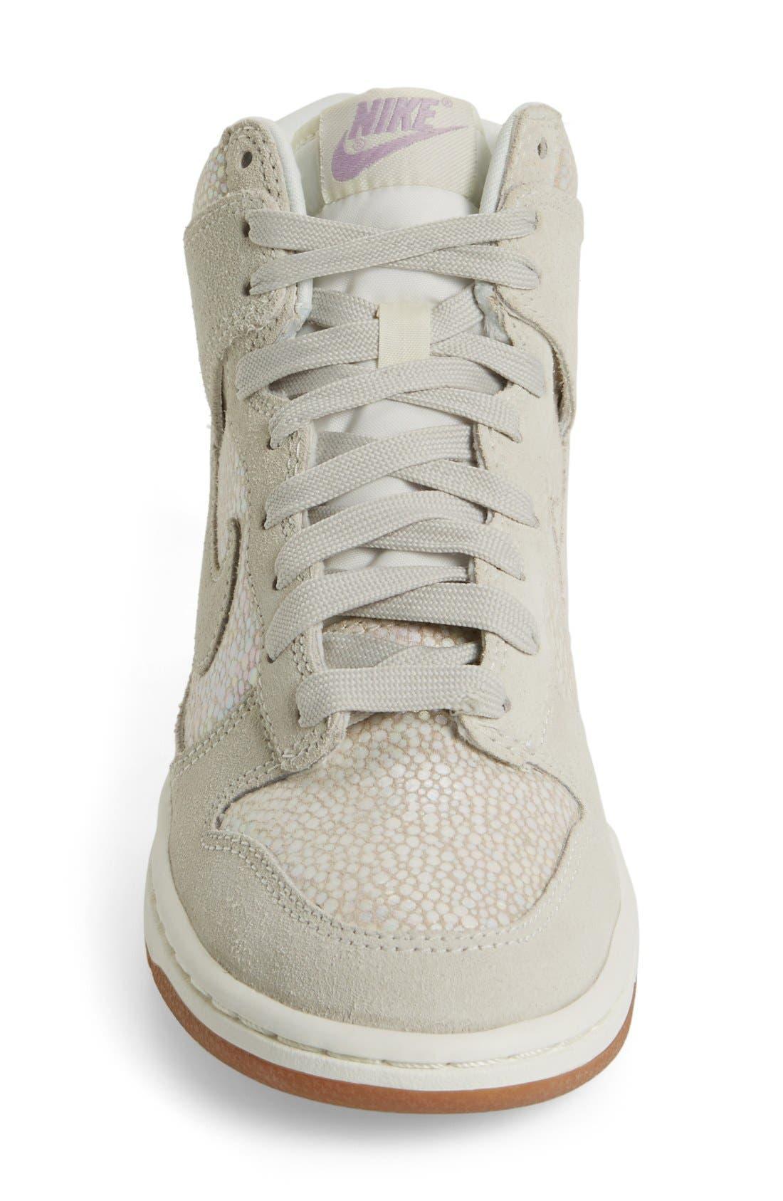 Alternate Image 8  - Nike 'Dunk High' Sneaker (Women)