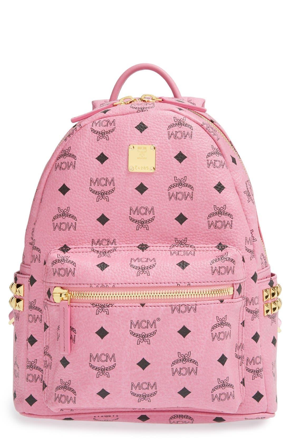 Main Image - MCM 'Small Stark' Side Stud Backpack