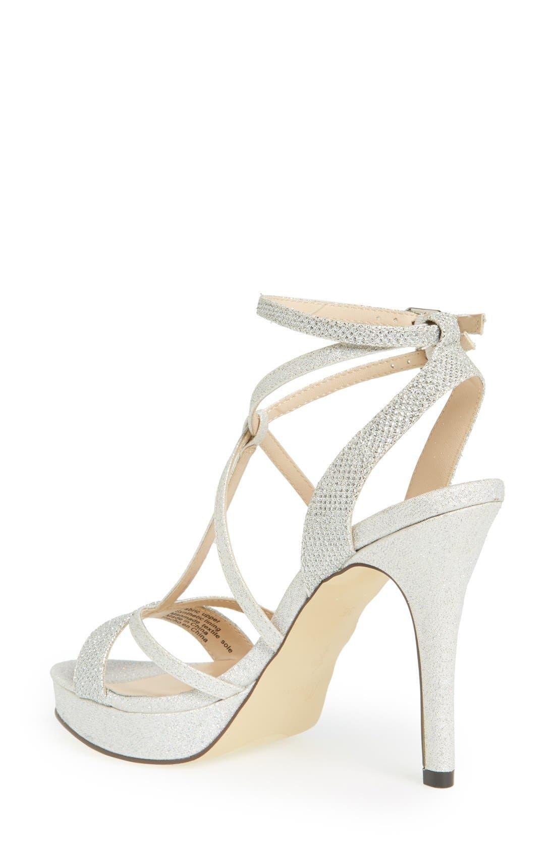 Alternate Image 2  - Menbur 'Algar' Glitter Platform Sandal (Women)