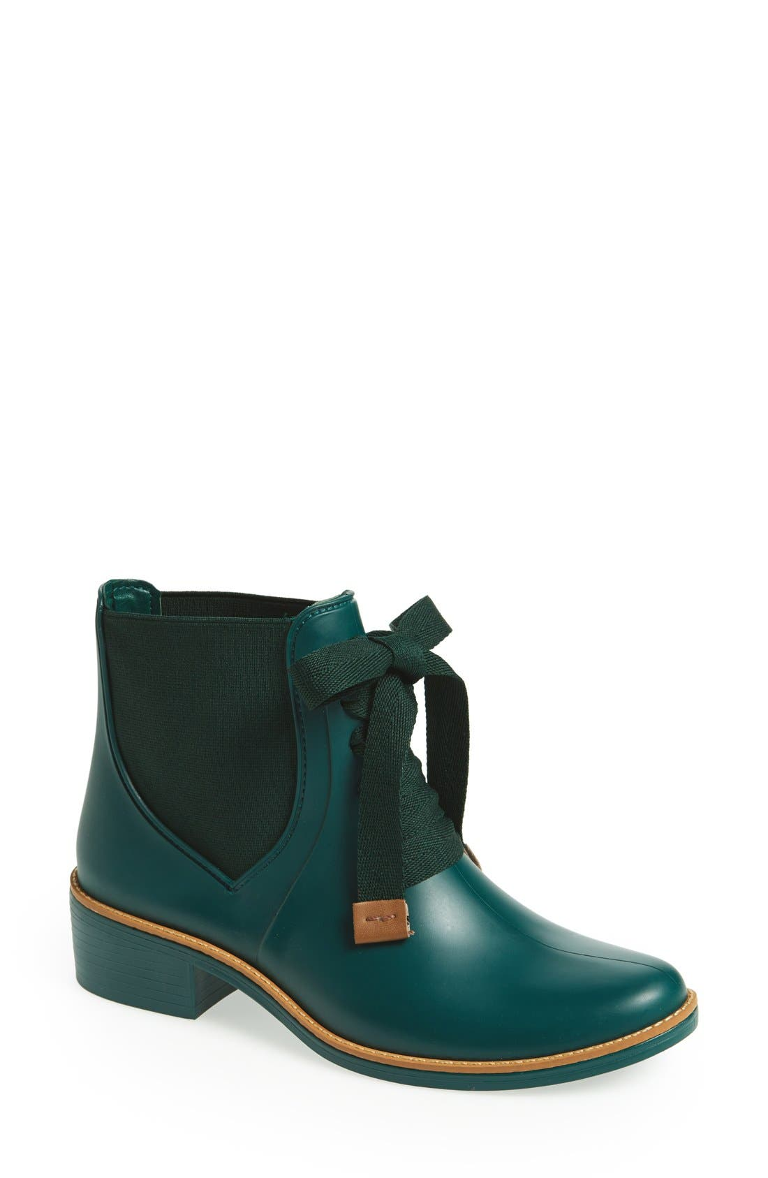 Alternate Image 1 Selected - Bernardo Lacey Short Waterproof Rain Boot (Women)
