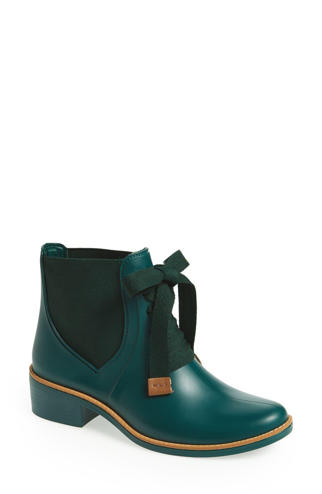 Main Image - Bernardo Lacey Short Waterproof Rain Boot (Women)