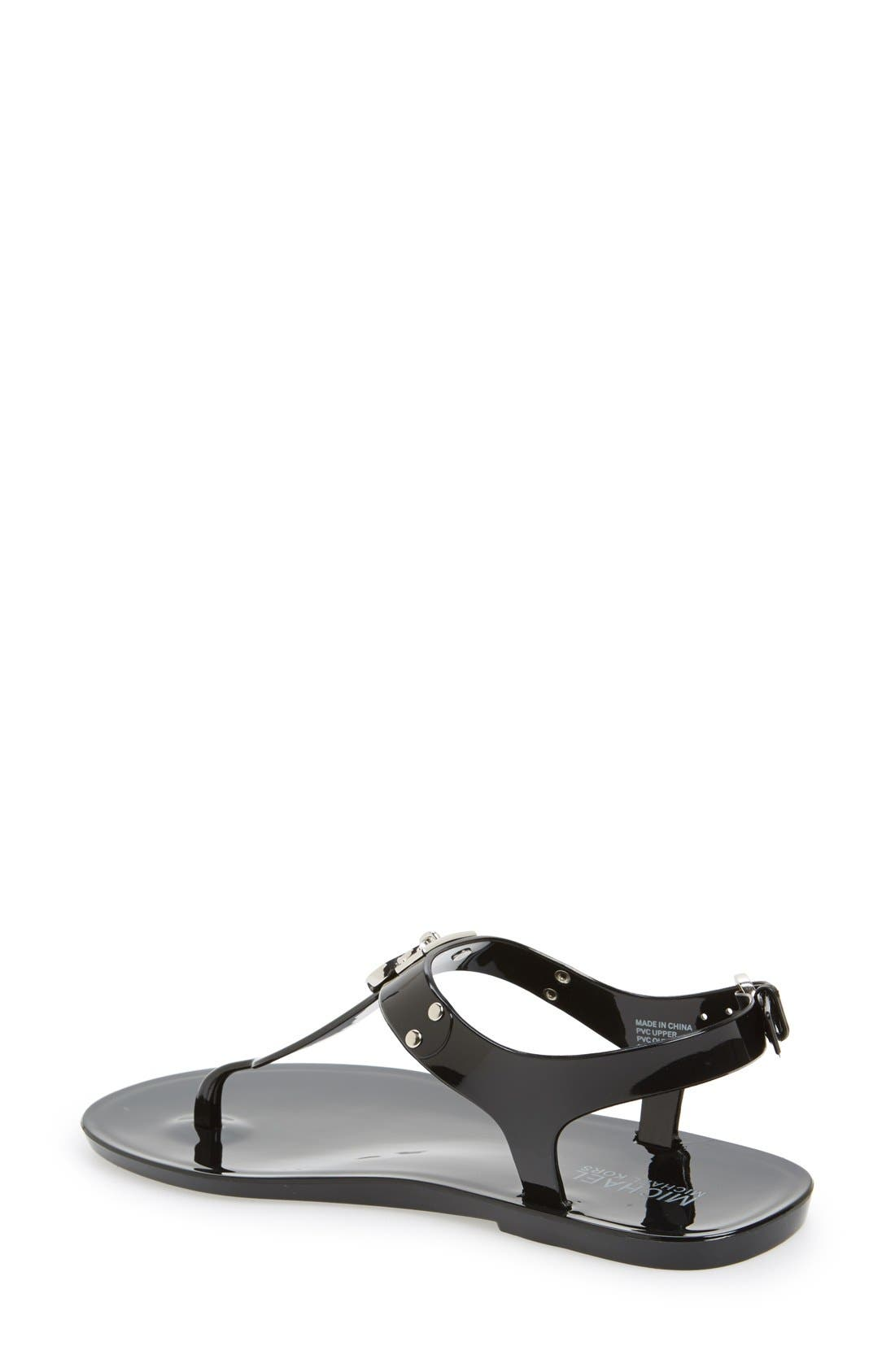 Alternate Image 3  - MICHAEL Michael Kors 'Hamilton' Jelly Sandal (Women)